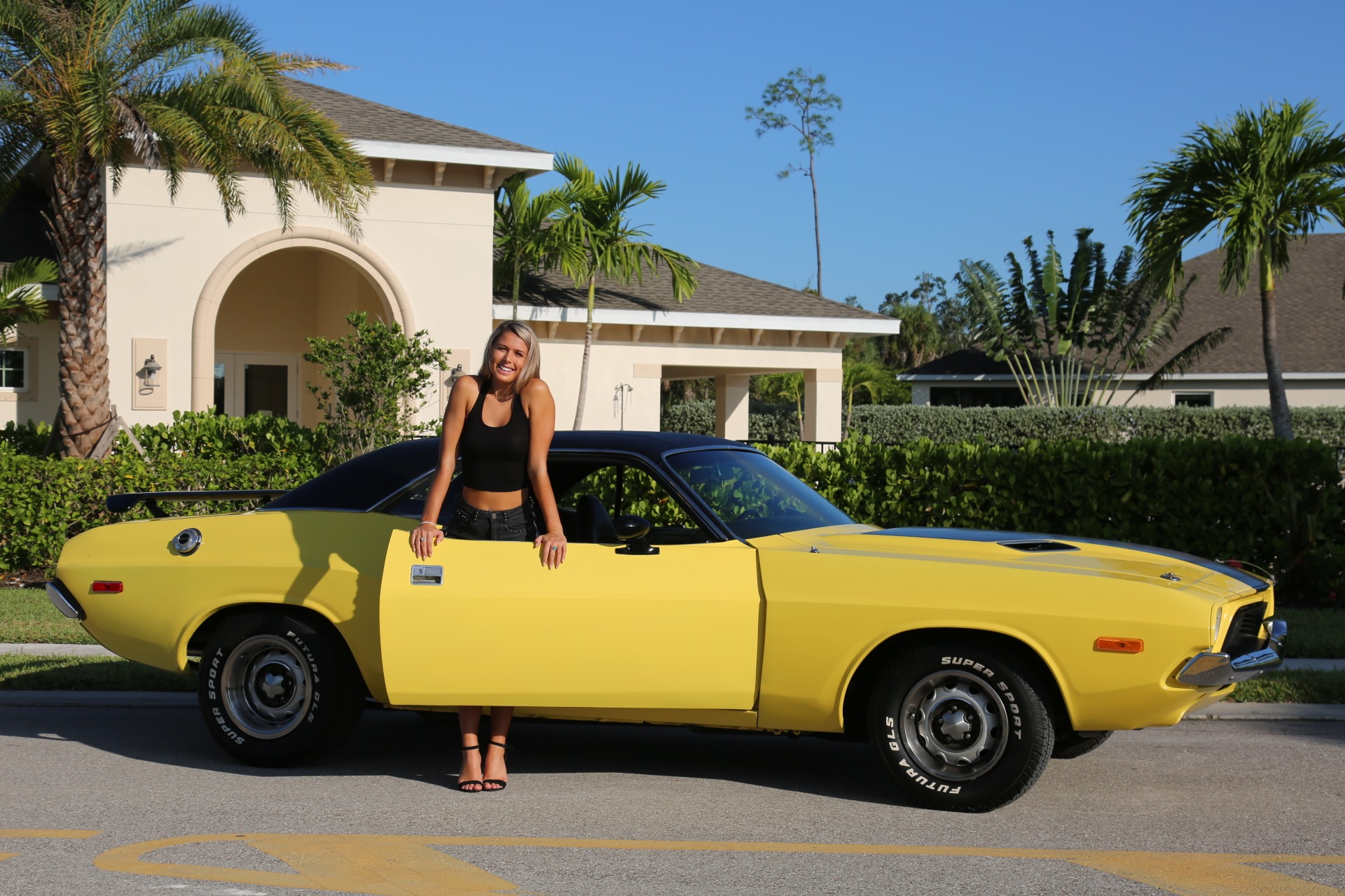 Used 1973 Dodge Challenger 440 V8 for sale Sold at Muscle Cars for Sale Inc. in Fort Myers FL 33912 7