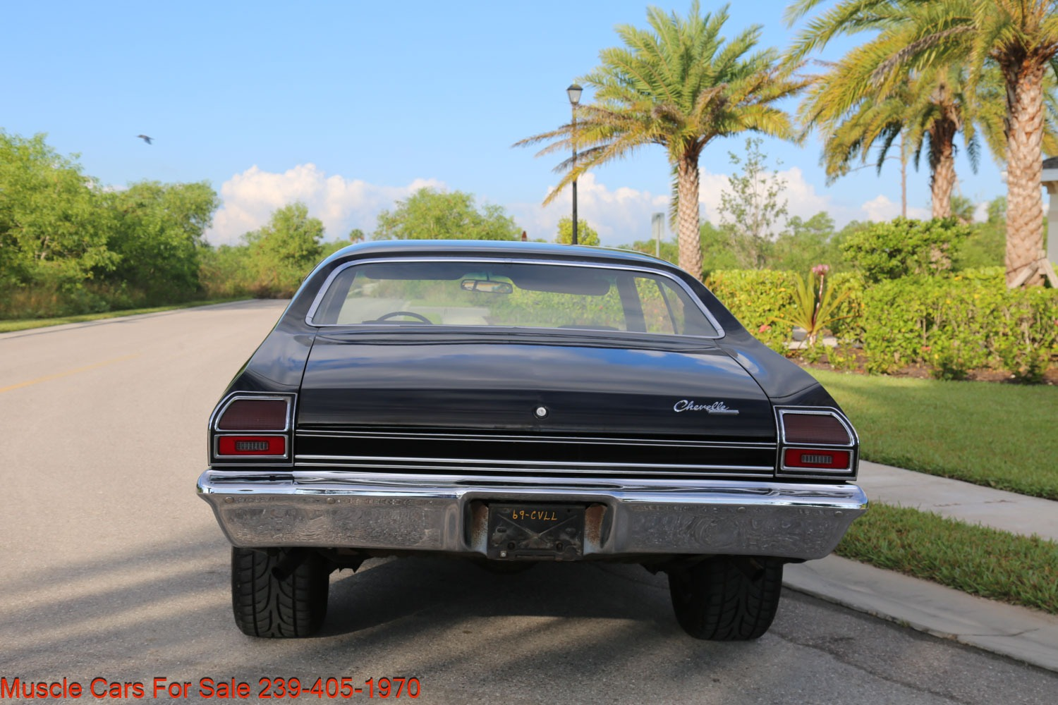 Used 1969 Chevrolet Chevelle Malibu 350 4 Speed for sale Sold at Muscle Cars for Sale Inc. in Fort Myers FL 33912 8