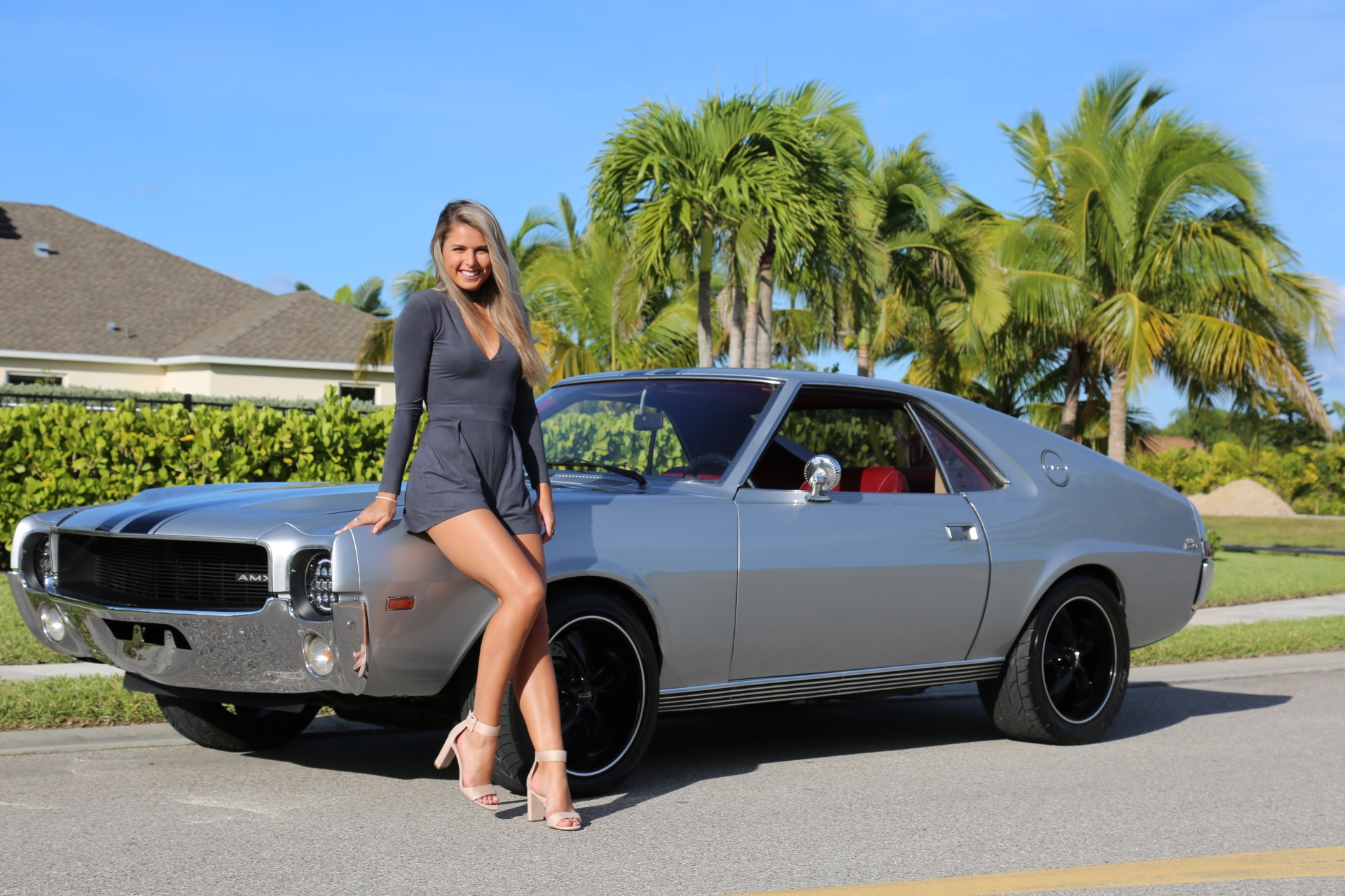 Used 1968 AMC AMX for sale Sold at Muscle Cars for Sale Inc. in Fort Myers FL 33912 1