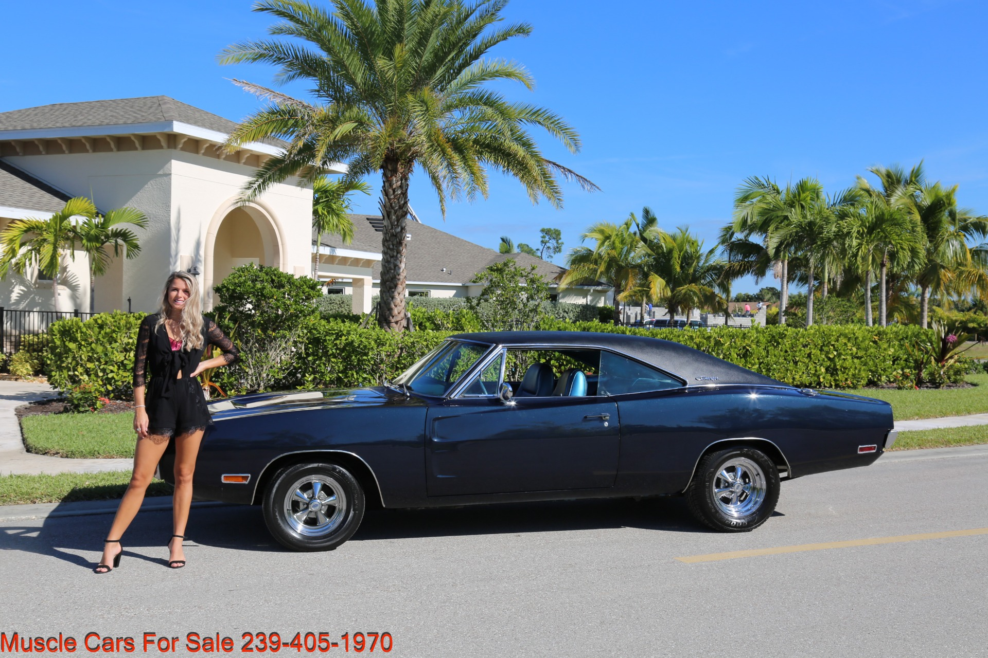 Used 1970 Dodge Charger # Matching for sale Sold at Muscle Cars for Sale Inc. in Fort Myers FL 33912 2