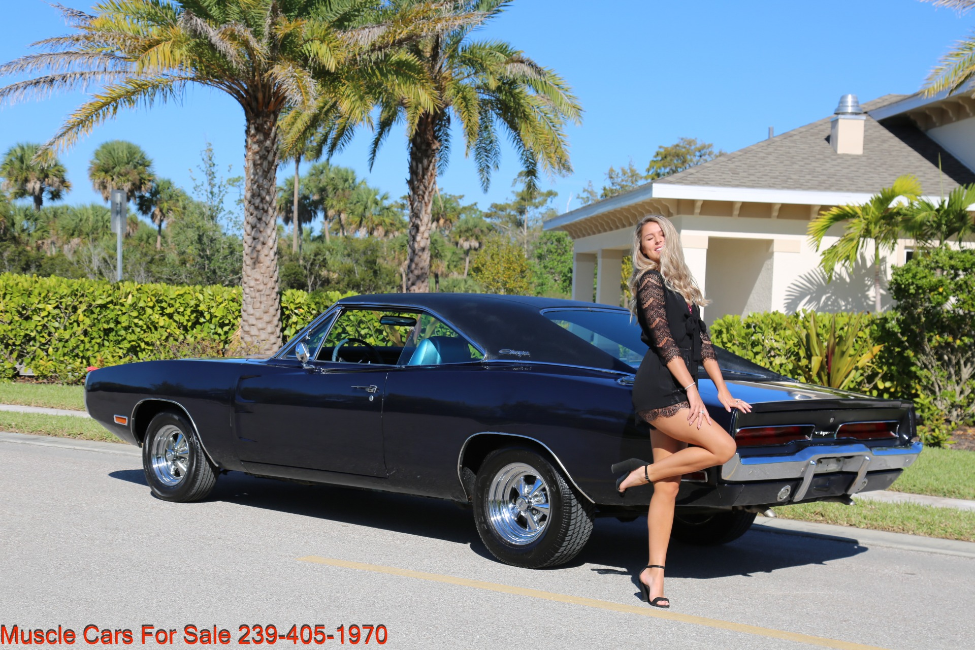 Used 1970 Dodge Charger # Matching for sale Sold at Muscle Cars for Sale Inc. in Fort Myers FL 33912 3