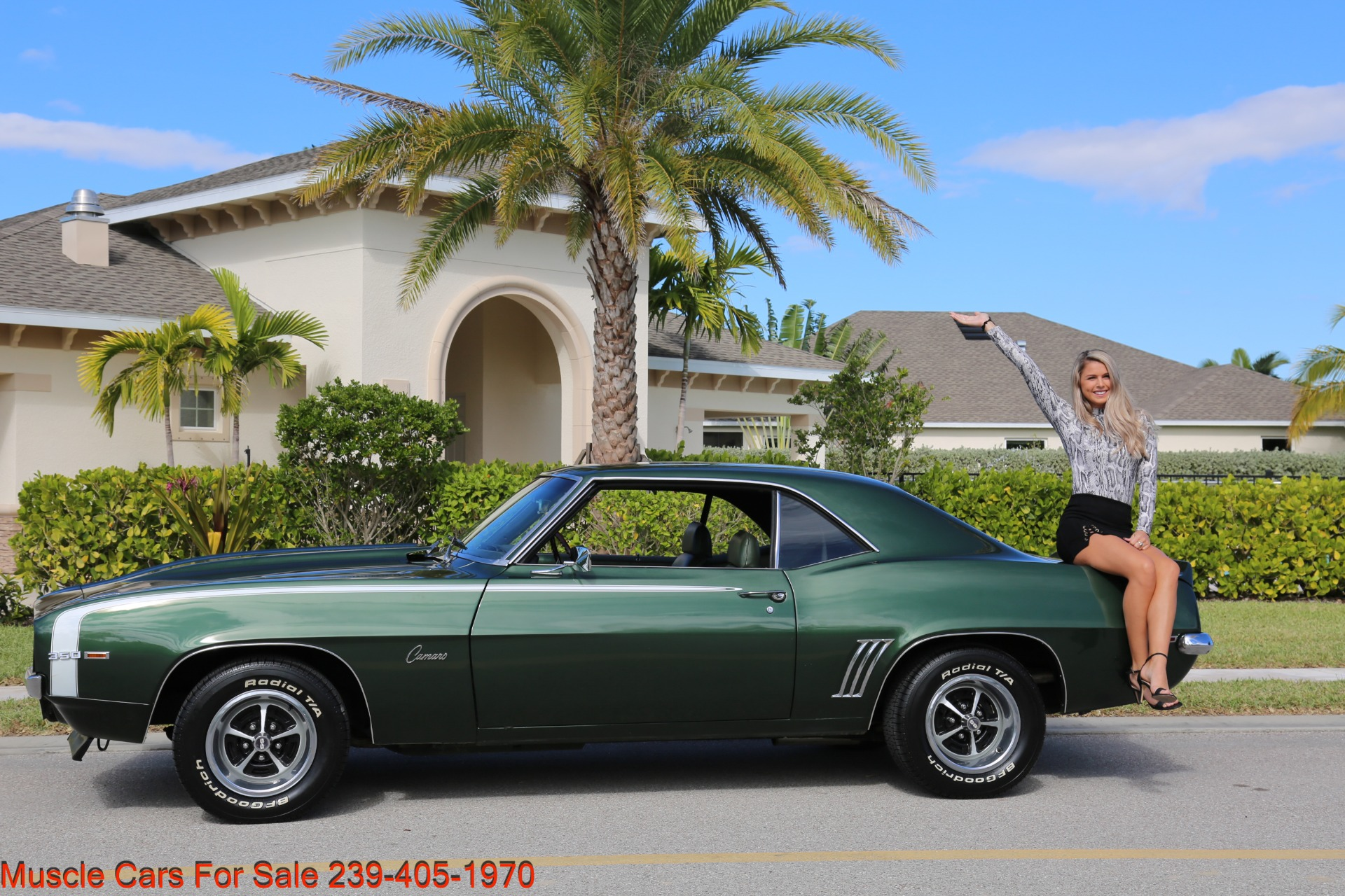 Used 1969 Chevrolet Camaro SS for sale Sold at Muscle Cars for Sale Inc. in Fort Myers FL 33912 4