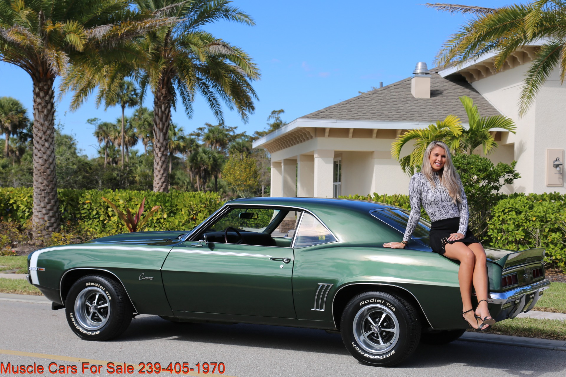 Used 1969 Chevrolet Camaro SS for sale Sold at Muscle Cars for Sale Inc. in Fort Myers FL 33912 5