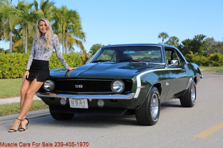 Used 1969 Chevrolet Camaro SS for sale $31,000 at Muscle Cars for Sale Inc. in Fort Myers FL