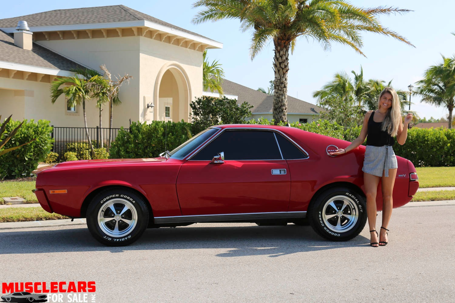 Used 1969 AMC AMX for sale Sold at Muscle Cars for Sale Inc. in Fort Myers FL 33912 3