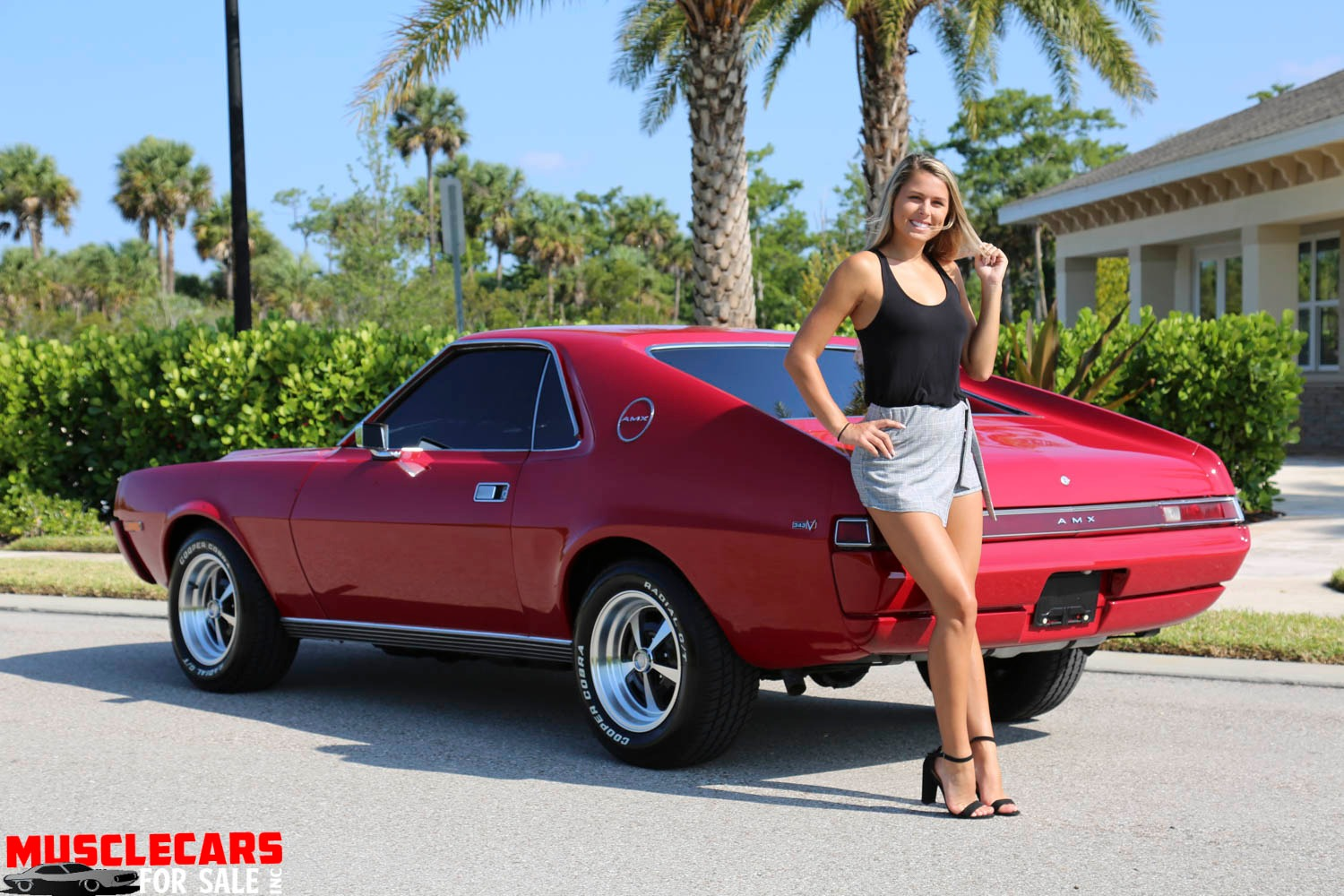 Used 1969 AMC AMX for sale Sold at Muscle Cars for Sale Inc. in Fort Myers FL 33912 5