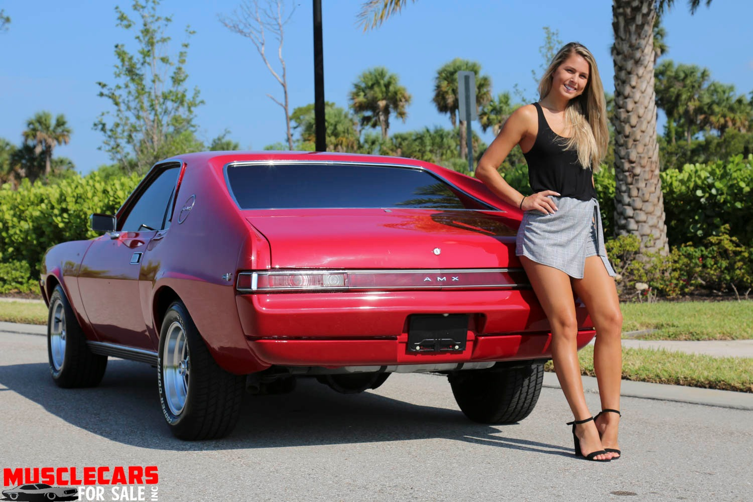 Used 1969 AMC AMX for sale Sold at Muscle Cars for Sale Inc. in Fort Myers FL 33912 6