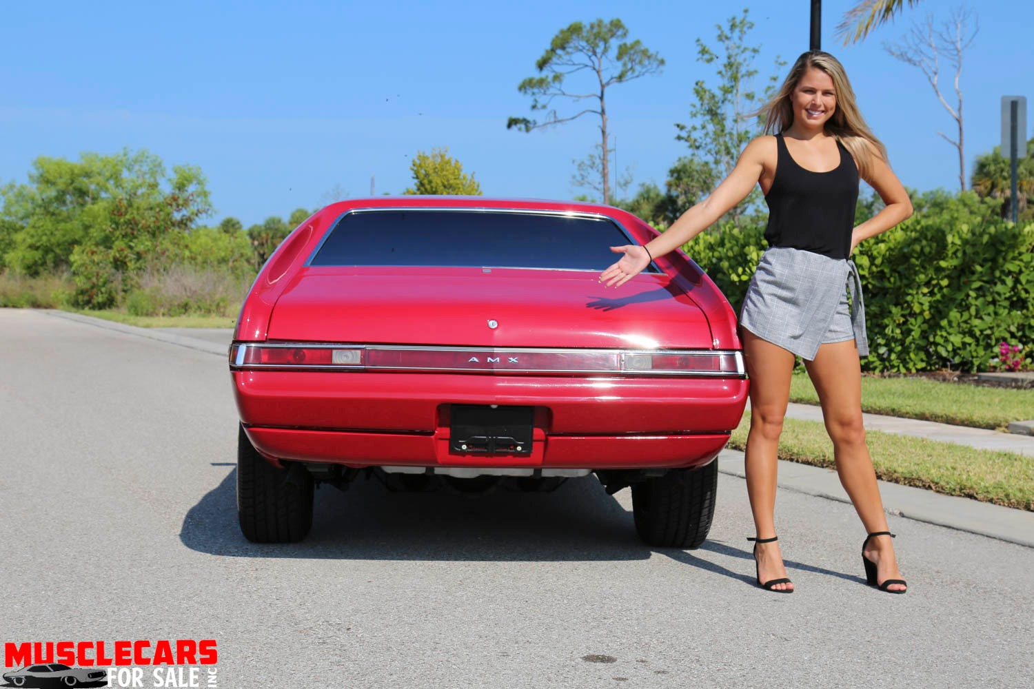 Used 1969 AMC AMX for sale Sold at Muscle Cars for Sale Inc. in Fort Myers FL 33912 7