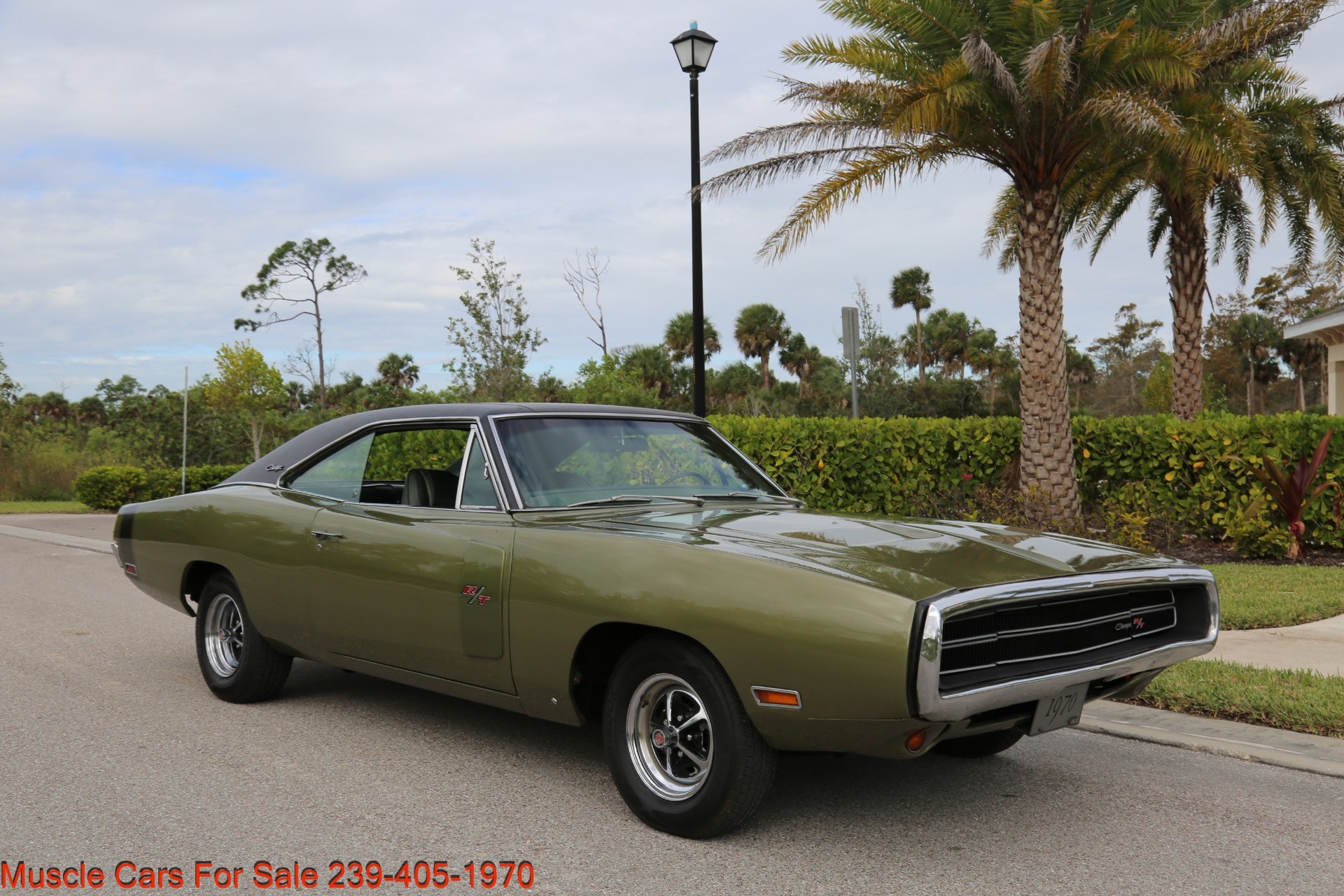 Used 1970 Dodge Charger V8 Auto With AC for sale Sold at Muscle Cars for Sale Inc. in Fort Myers FL 33912 2