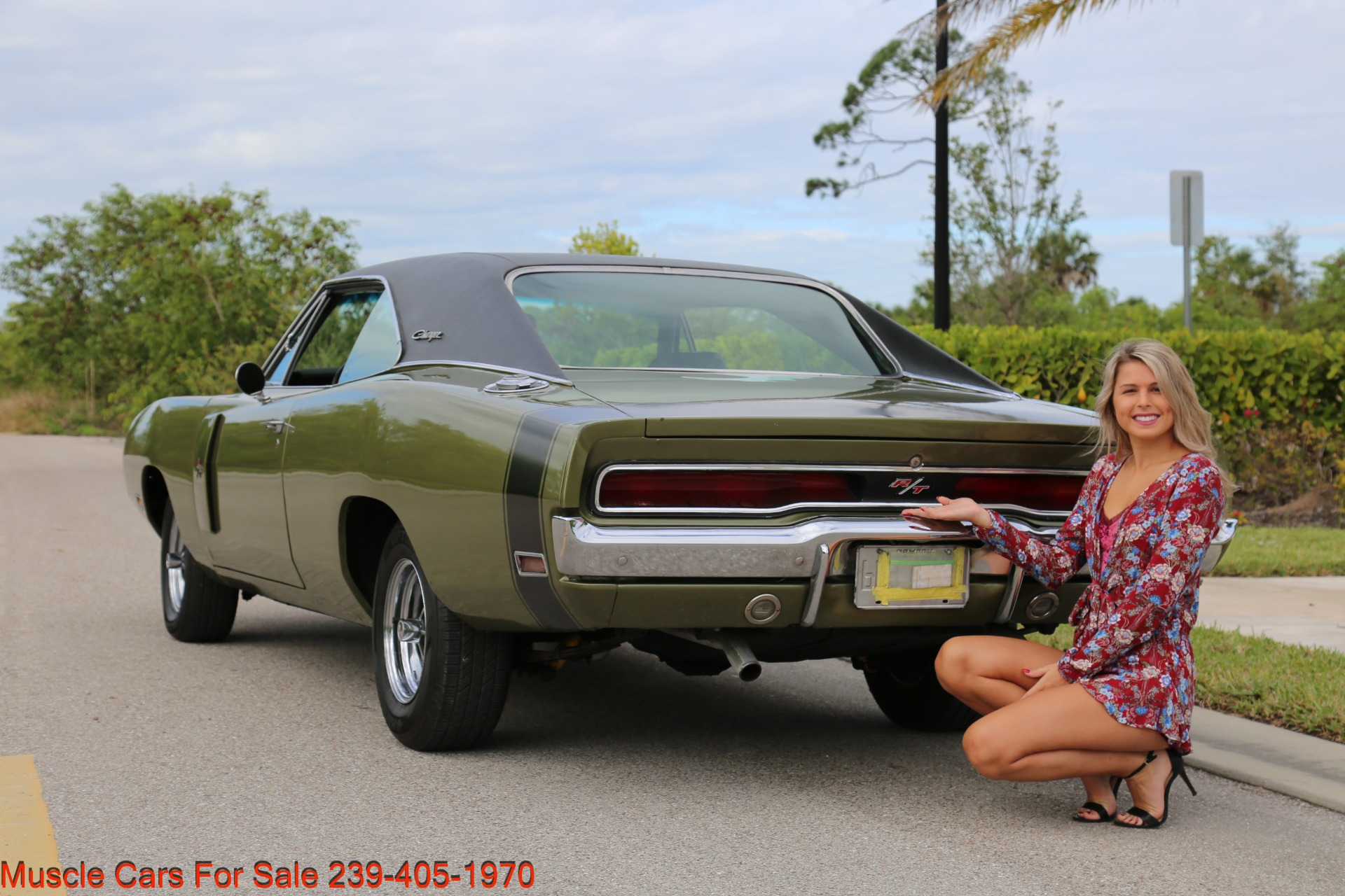 Used 1970 Dodge Charger V8 Auto With AC for sale Sold at Muscle Cars for Sale Inc. in Fort Myers FL 33912 5
