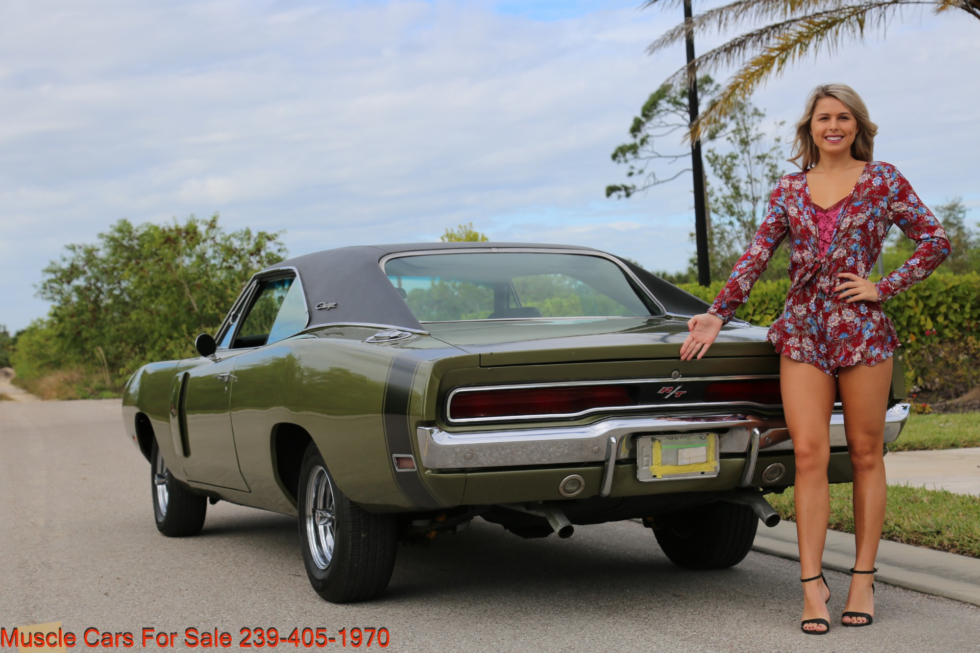 Used 1970 Dodge Charger V8 Auto With AC for sale Sold at Muscle Cars for Sale Inc. in Fort Myers FL 33912 6