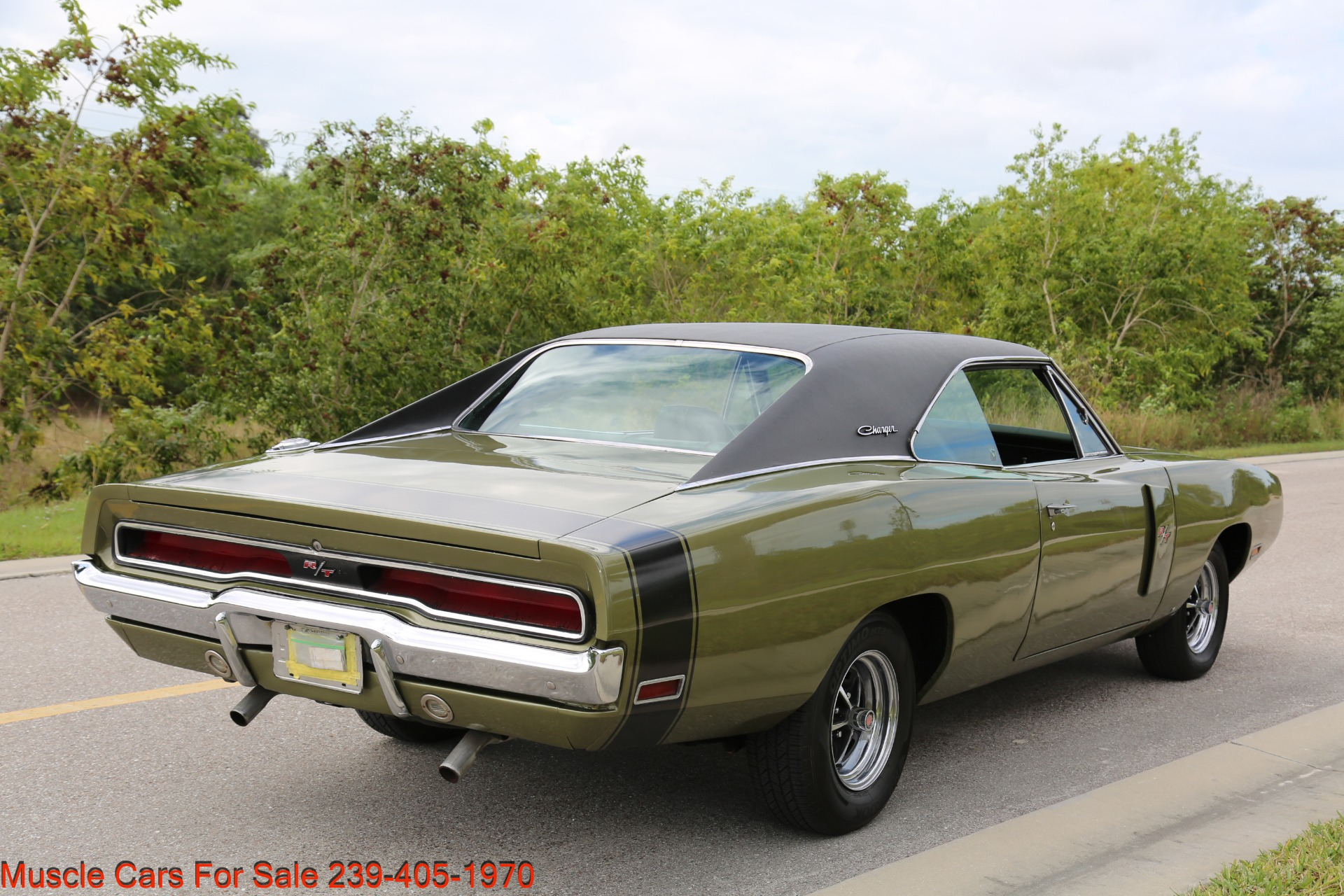Used 1970 Dodge Charger V8 Auto With AC for sale Sold at Muscle Cars for Sale Inc. in Fort Myers FL 33912 7