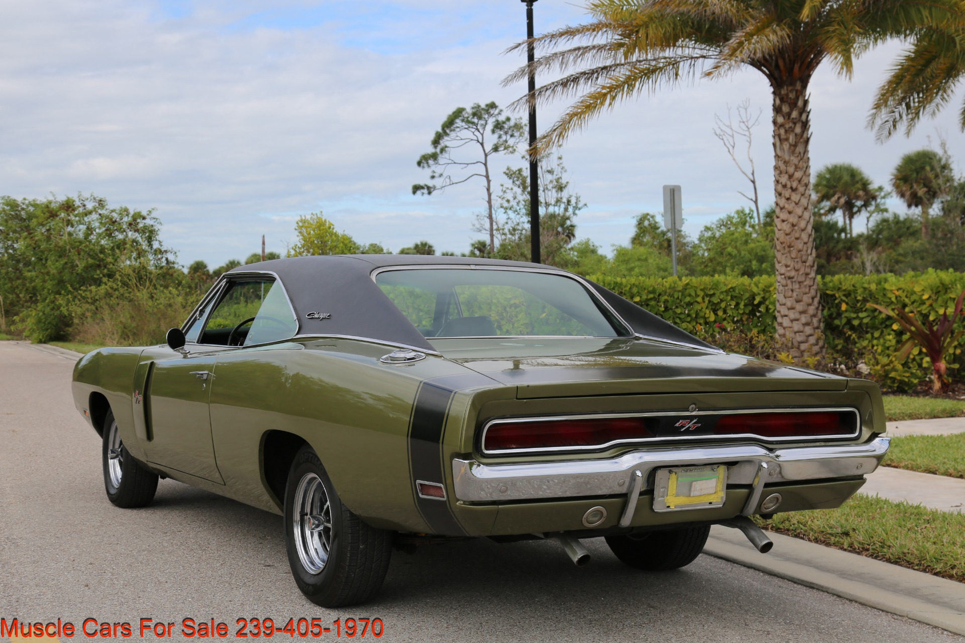 Used 1970 Dodge Charger V8 Auto With AC for sale Sold at Muscle Cars for Sale Inc. in Fort Myers FL 33912 8