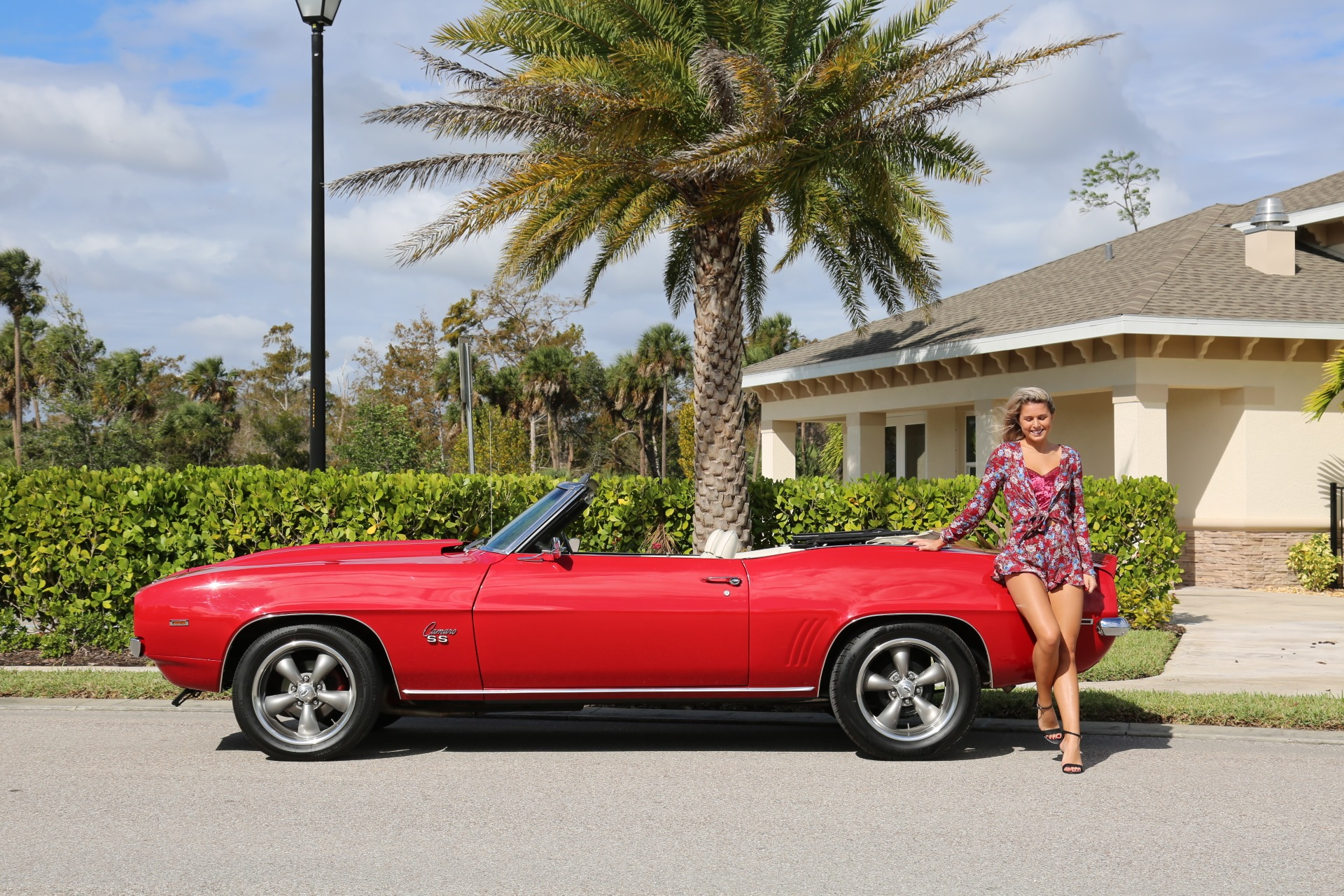 Used 1969 Chevy Camaro Convertible V8 Auto 12 Bolt Rear for sale Sold at Muscle Cars for Sale Inc. in Fort Myers FL 33912 3