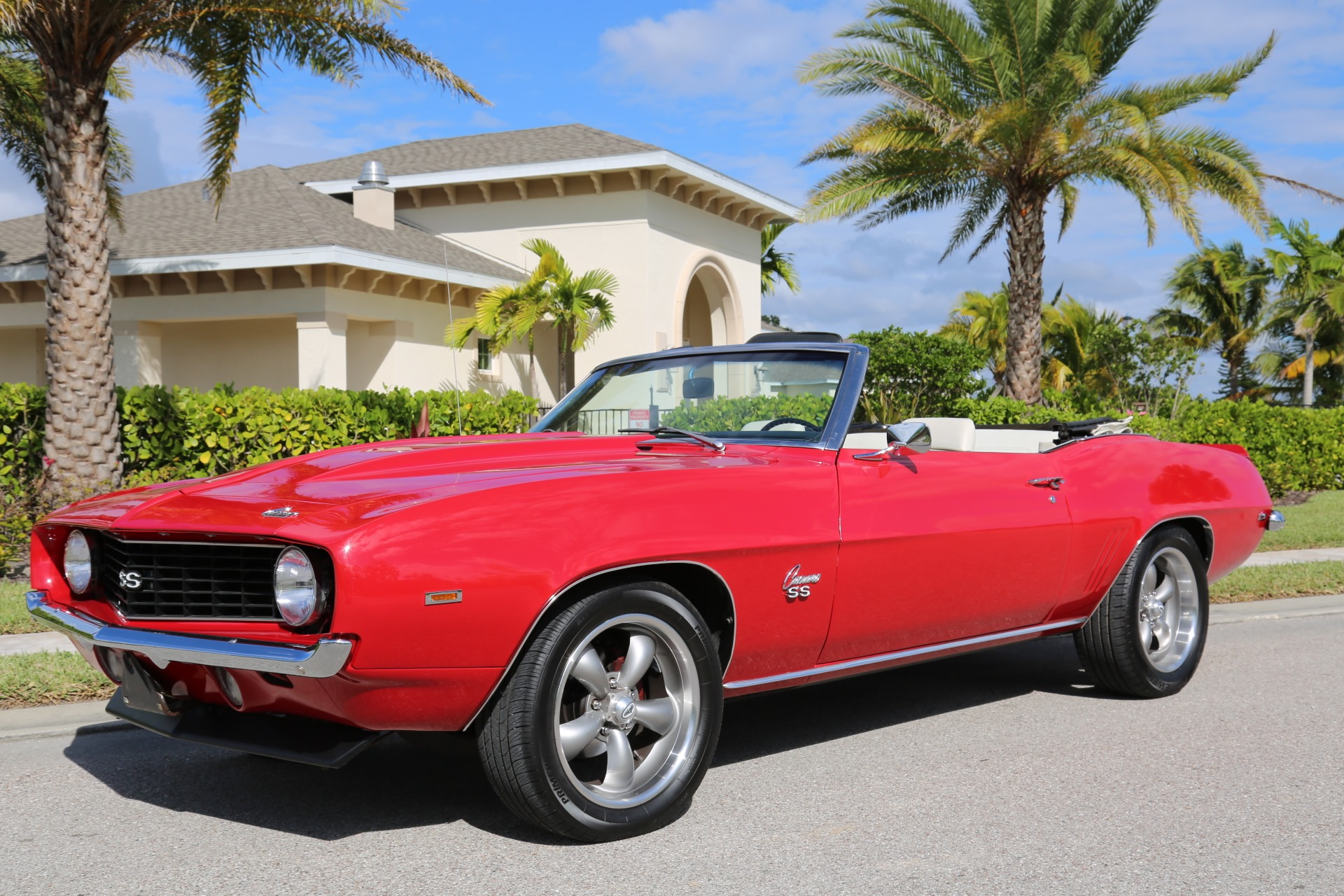 Used 1969 Chevy Camaro Convertible V8 Auto 12 Bolt Rear for sale Sold at Muscle Cars for Sale Inc. in Fort Myers FL 33912 4