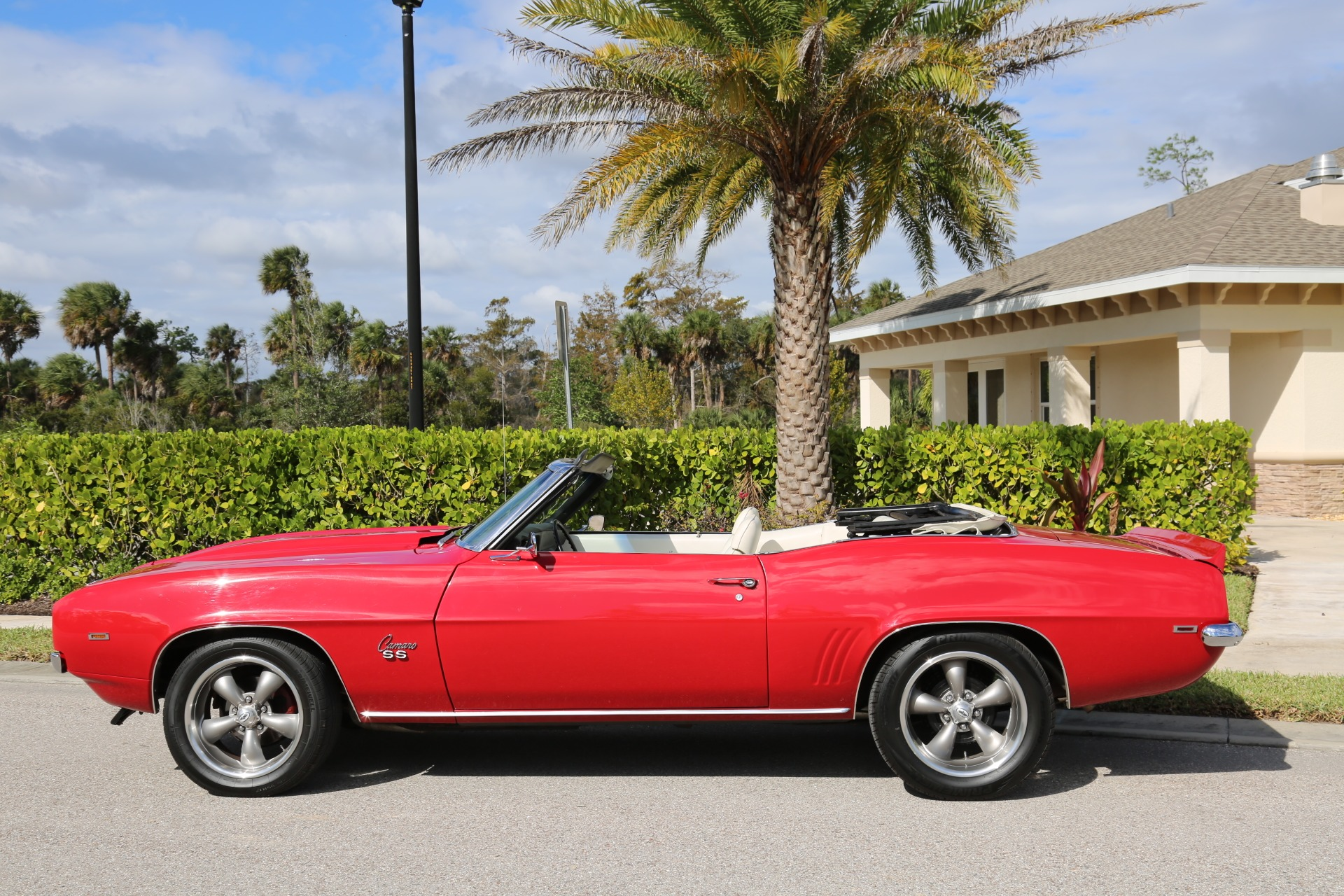 Used 1969 Chevy Camaro Convertible V8 Auto 12 Bolt Rear for sale Sold at Muscle Cars for Sale Inc. in Fort Myers FL 33912 5