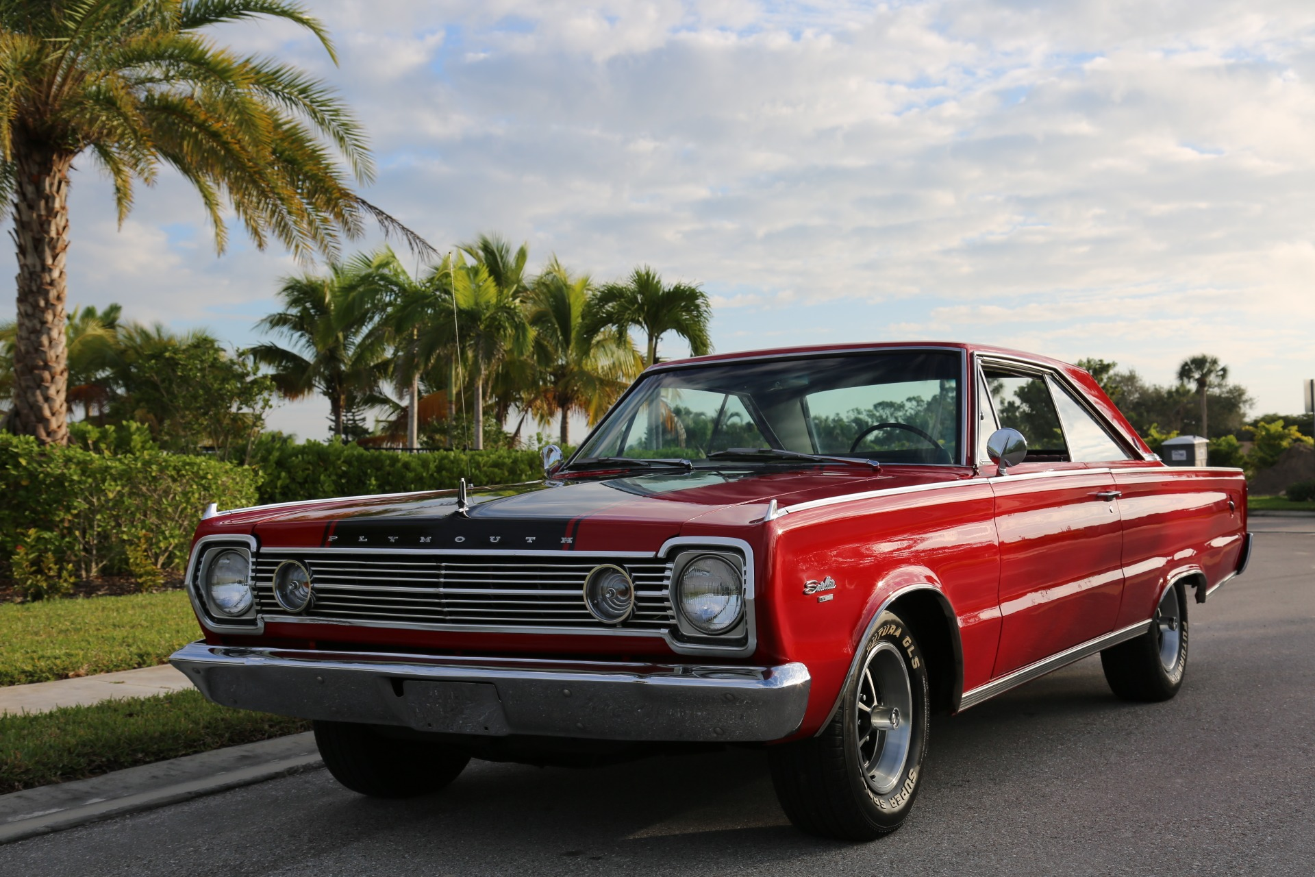 Used 1966 Plymouth Satellite 440 V8 Automatic for sale Sold at Muscle Cars for Sale Inc. in Fort Myers FL 33912 4