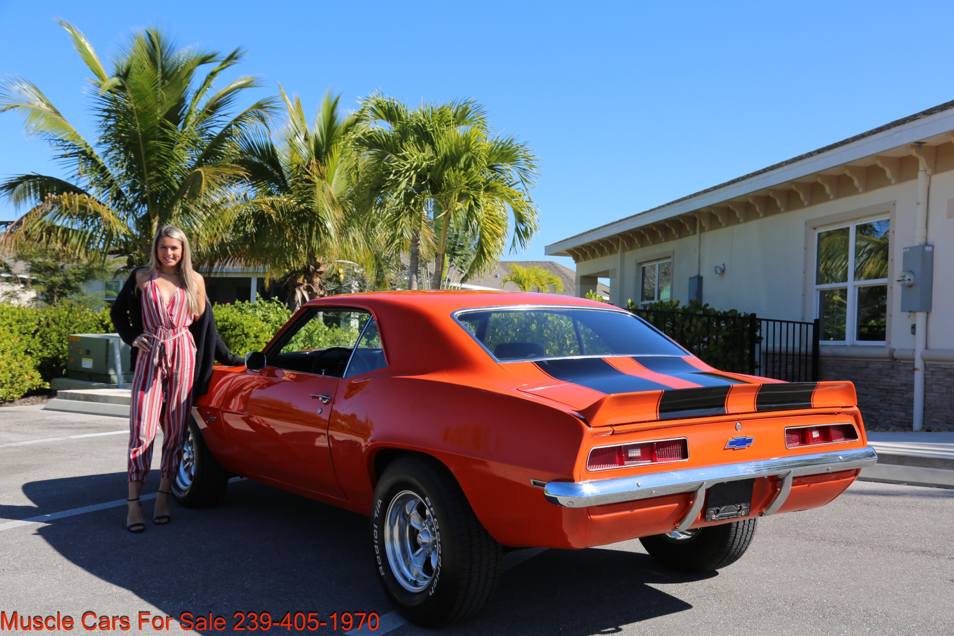 Used 1969 Chevy Camaro for sale Sold at Muscle Cars for Sale Inc. in Fort Myers FL 33912 2