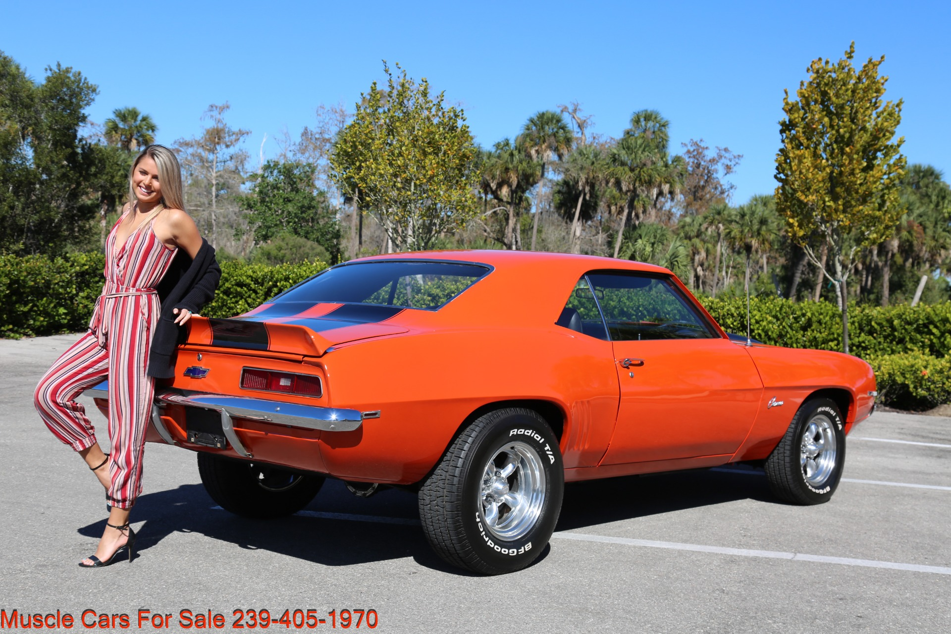 Used 1969 Chevy Camaro for sale Sold at Muscle Cars for Sale Inc. in Fort Myers FL 33912 3