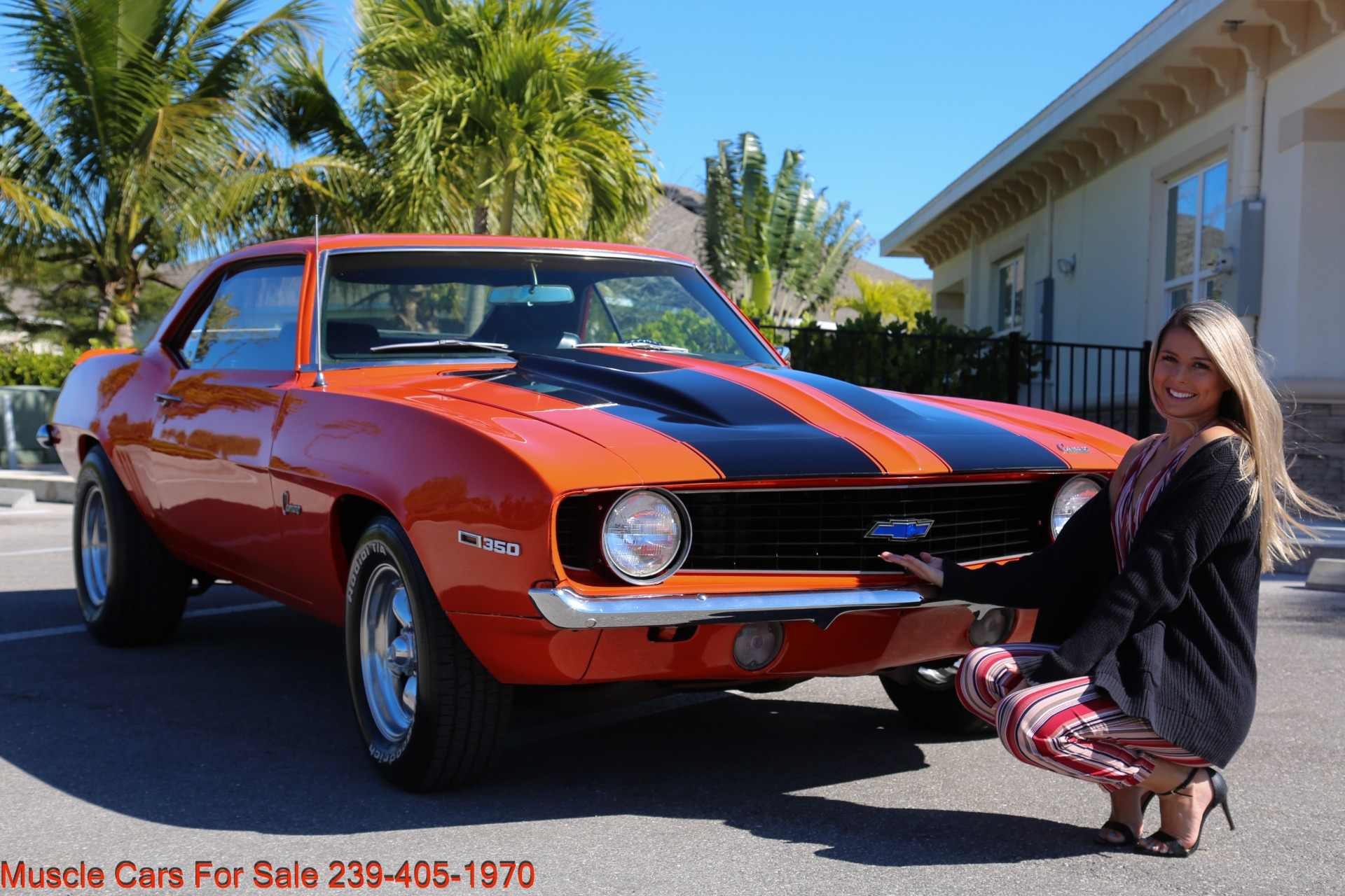 Used 1969 Chevy Camaro for sale Sold at Muscle Cars for Sale Inc. in Fort Myers FL 33912 1