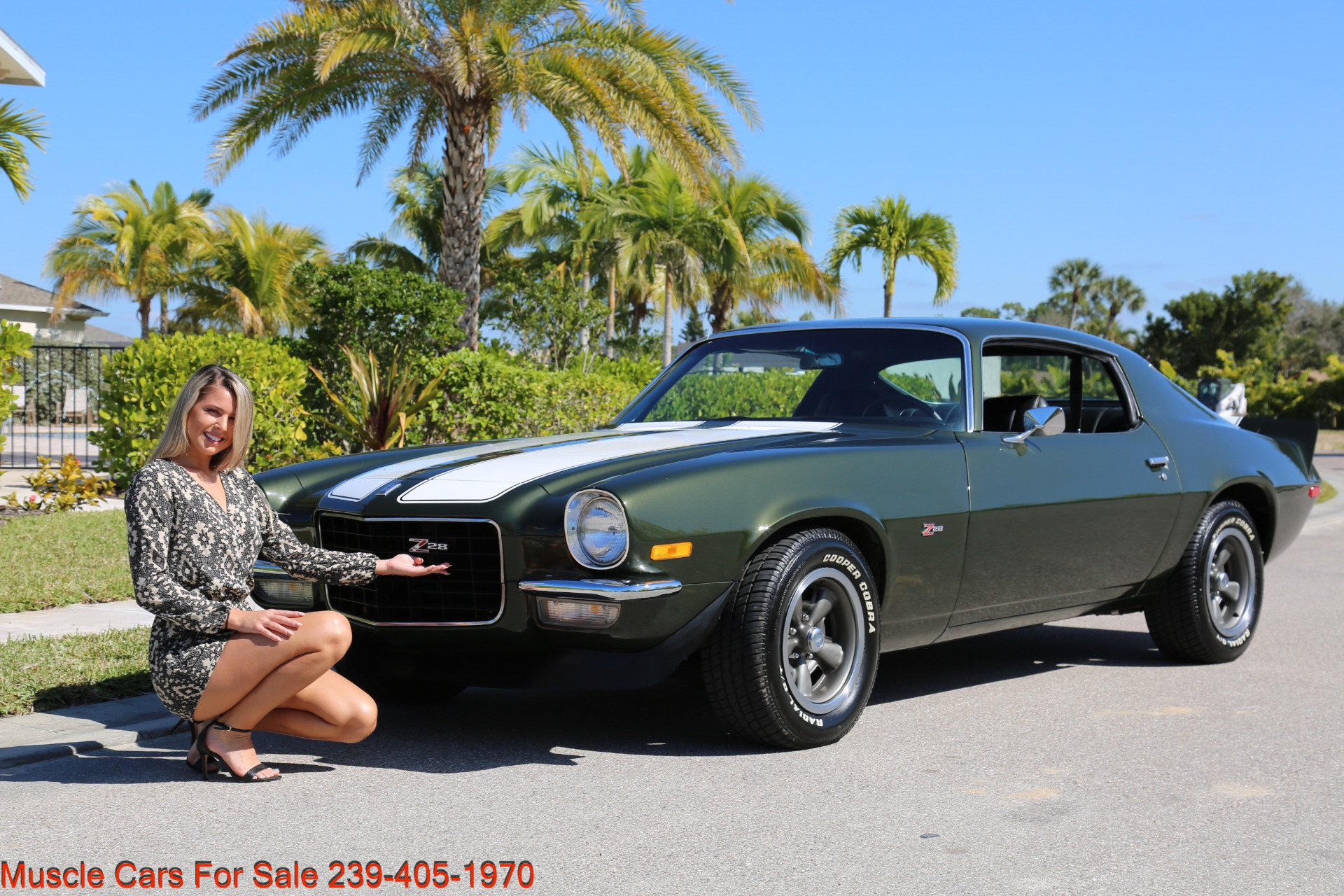 Used 1971 Chevy Camaro Z28 for sale Sold at Muscle Cars for Sale Inc. in Fort Myers FL 33912 3
