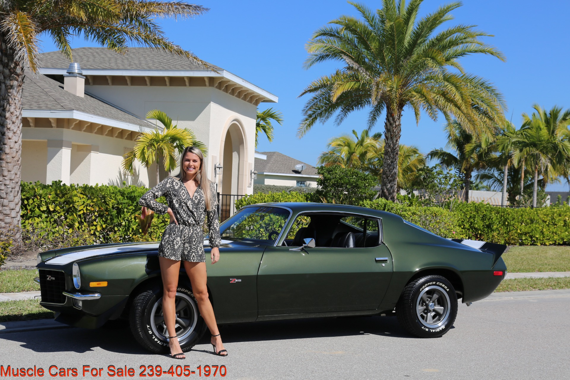 Used 1971 Chevy Camaro Z28 for sale Sold at Muscle Cars for Sale Inc. in Fort Myers FL 33912 4