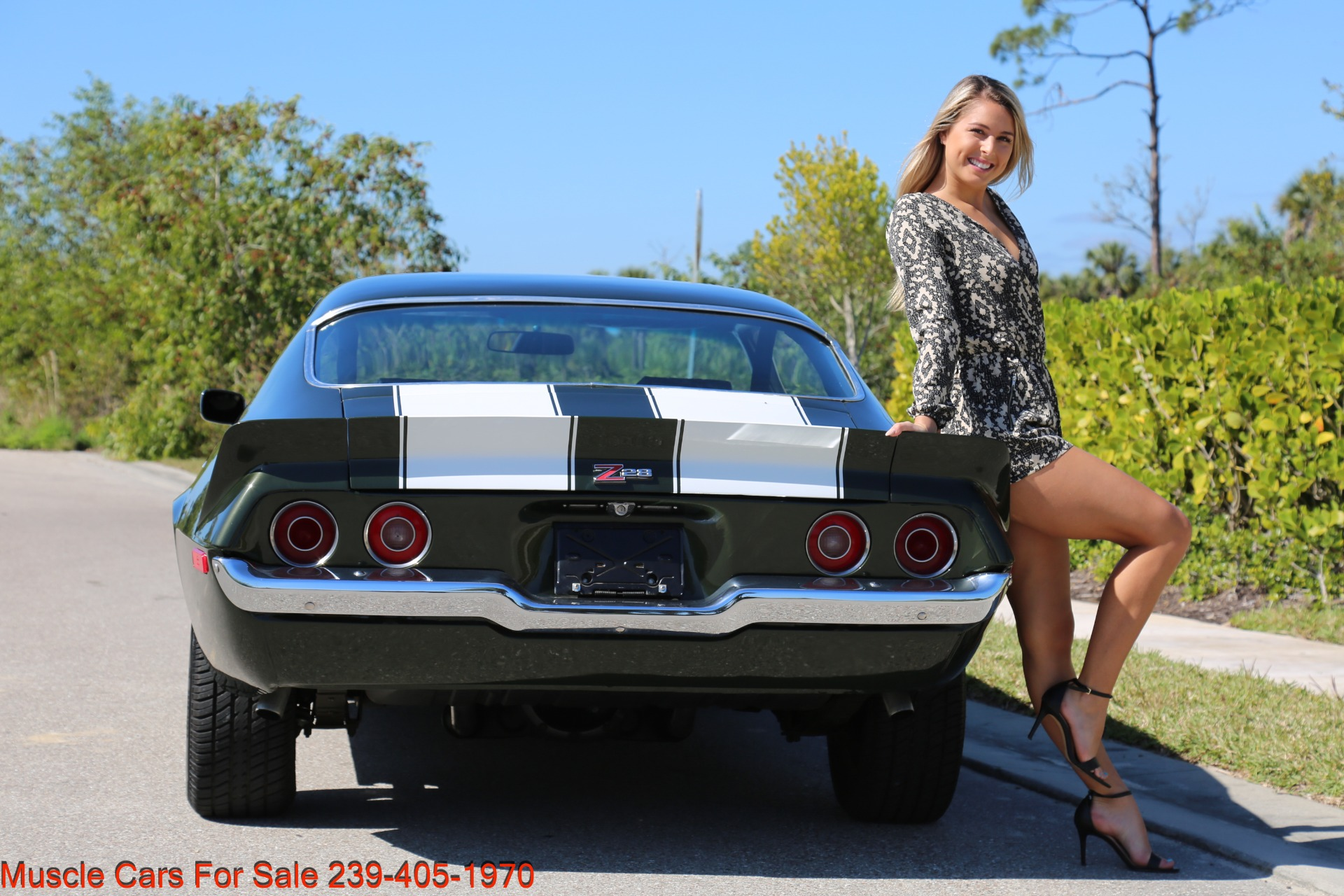 Used 1971 Chevy Camaro Z28 for sale Sold at Muscle Cars for Sale Inc. in Fort Myers FL 33912 6