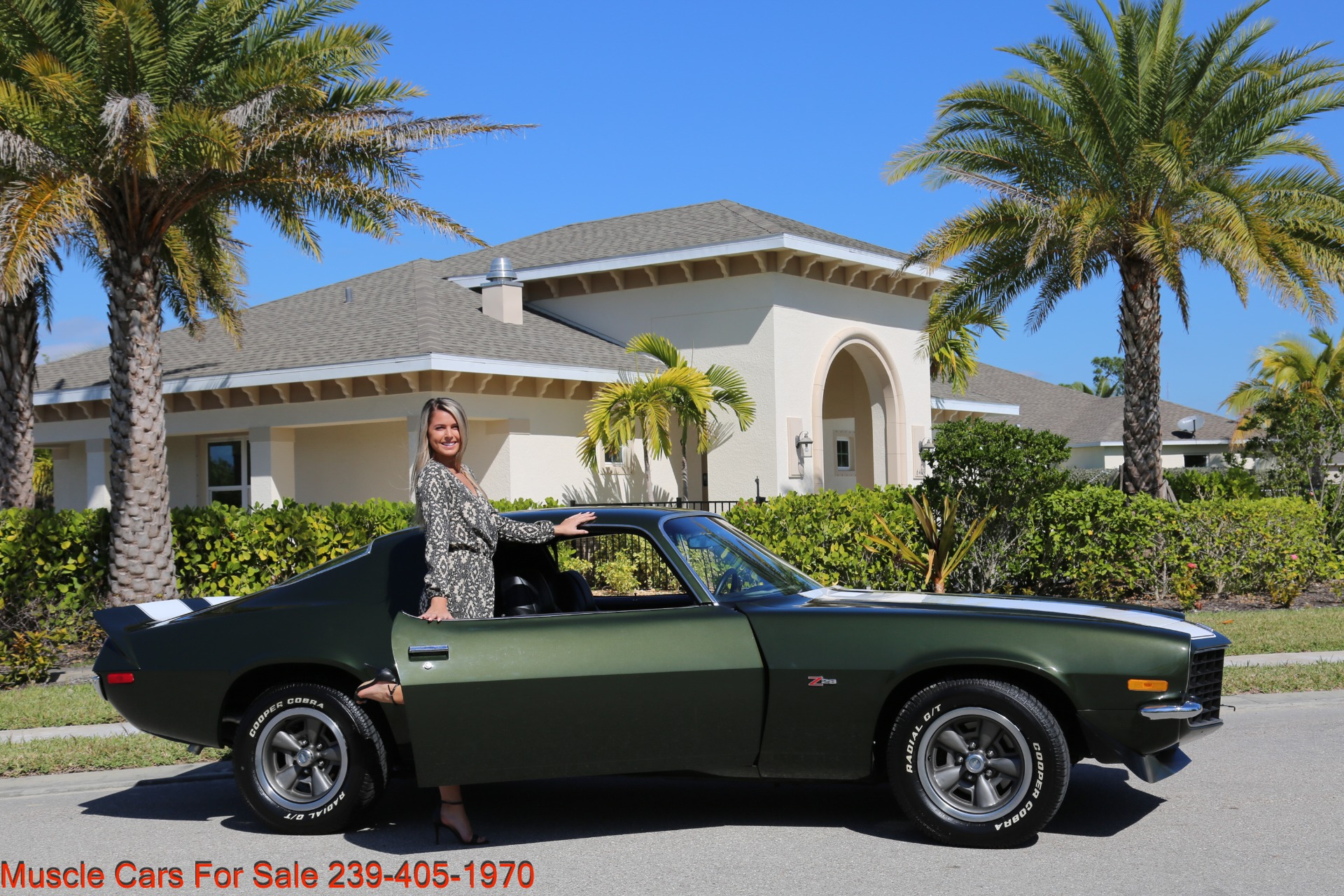 Used 1971 Chevy Camaro Z28 for sale Sold at Muscle Cars for Sale Inc. in Fort Myers FL 33912 8