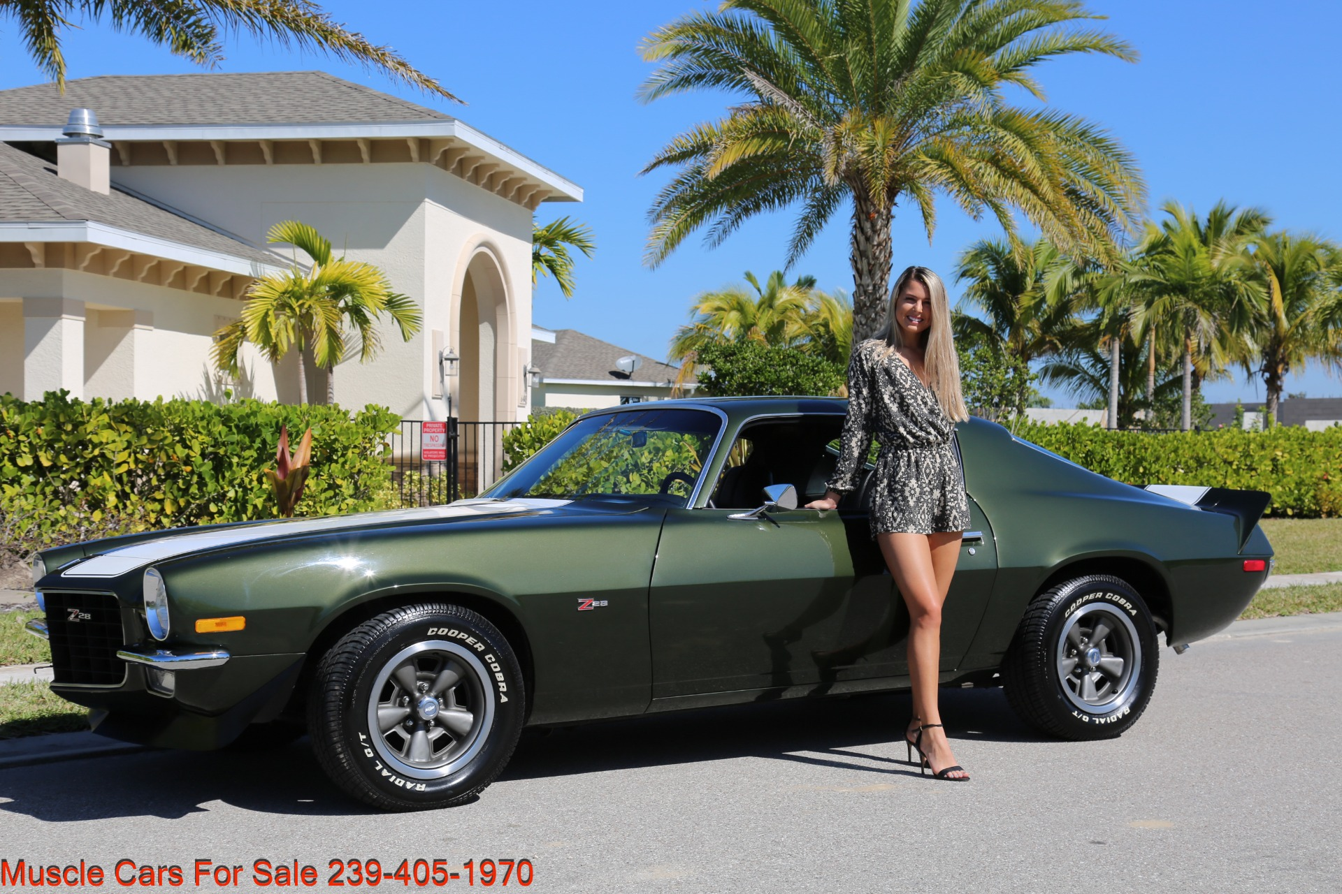 Used 1971 Chevy Camaro Z28 for sale Sold at Muscle Cars for Sale Inc. in Fort Myers FL 33912 1