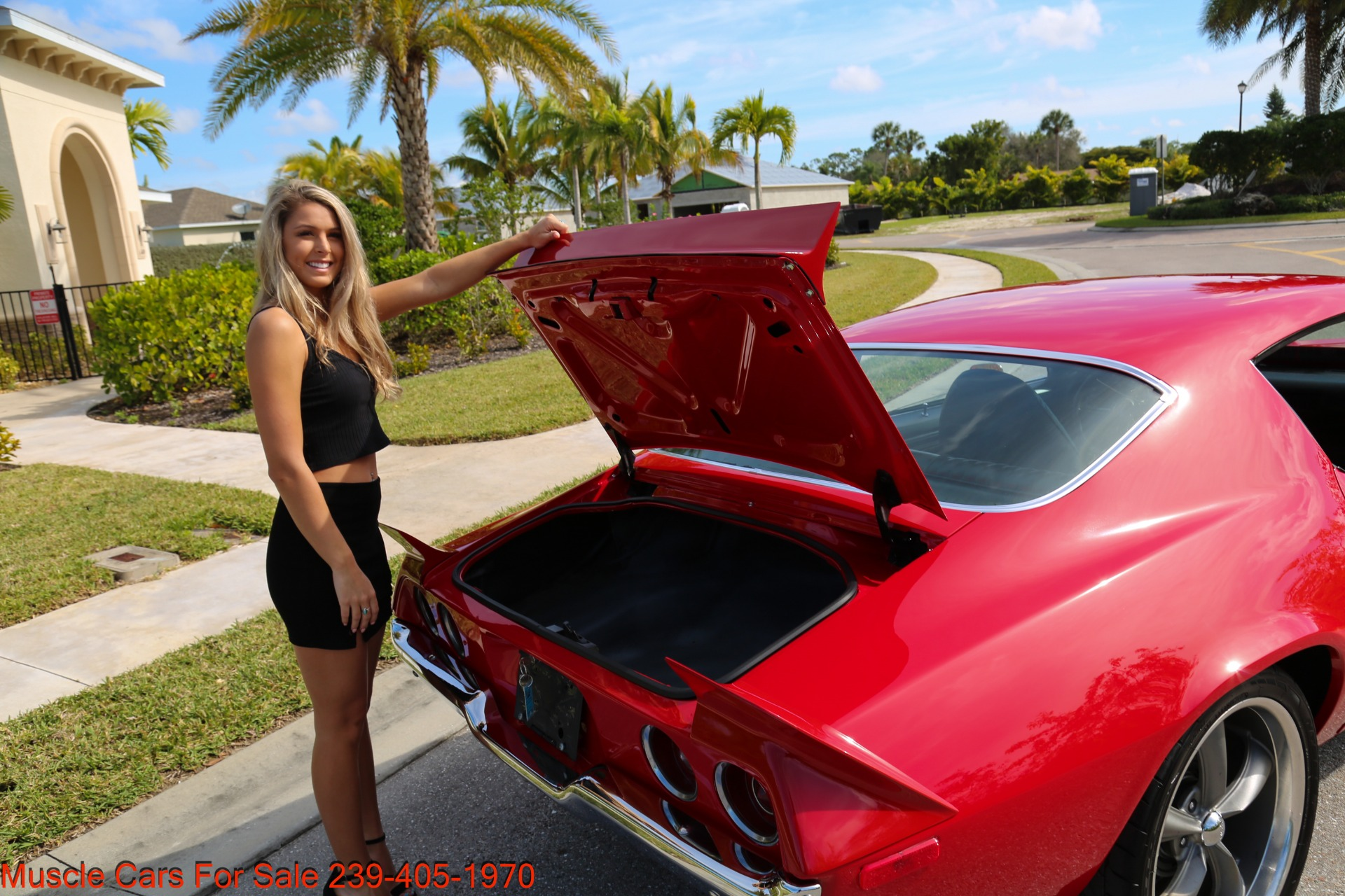 Used 1972 Chevy Camaro 454  4 Speed manual posi for sale Sold at Muscle Cars for Sale Inc. in Fort Myers FL 33912 4