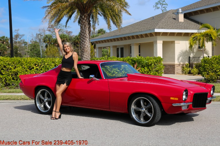 Used 1972 Chevy Camaro 454  4 Speed manual posi for sale $31,000 at Muscle Cars for Sale Inc. in Fort Myers FL
