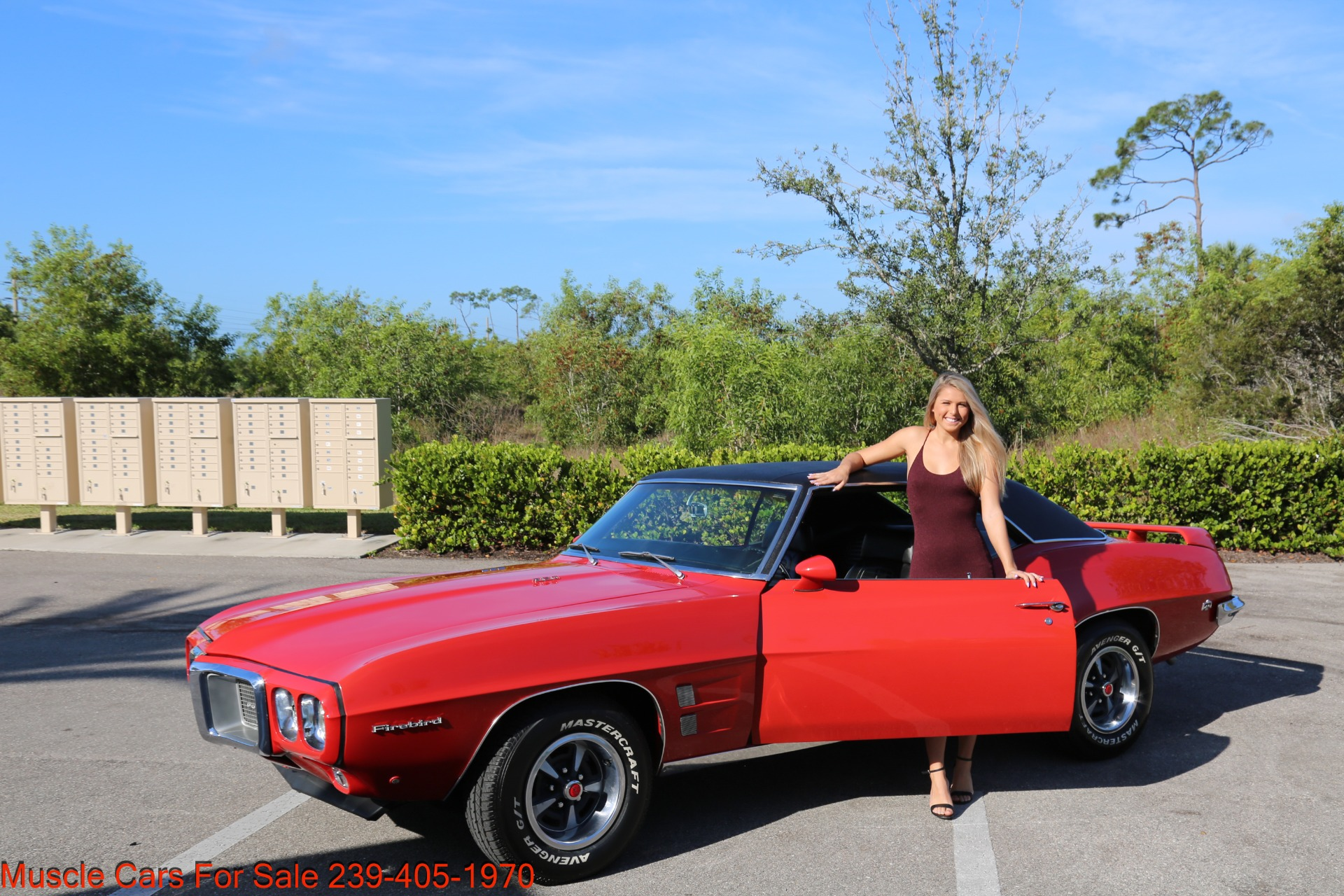 Used 1969 Pontiac Firebird for sale Sold at Muscle Cars for Sale Inc. in Fort Myers FL 33912 2