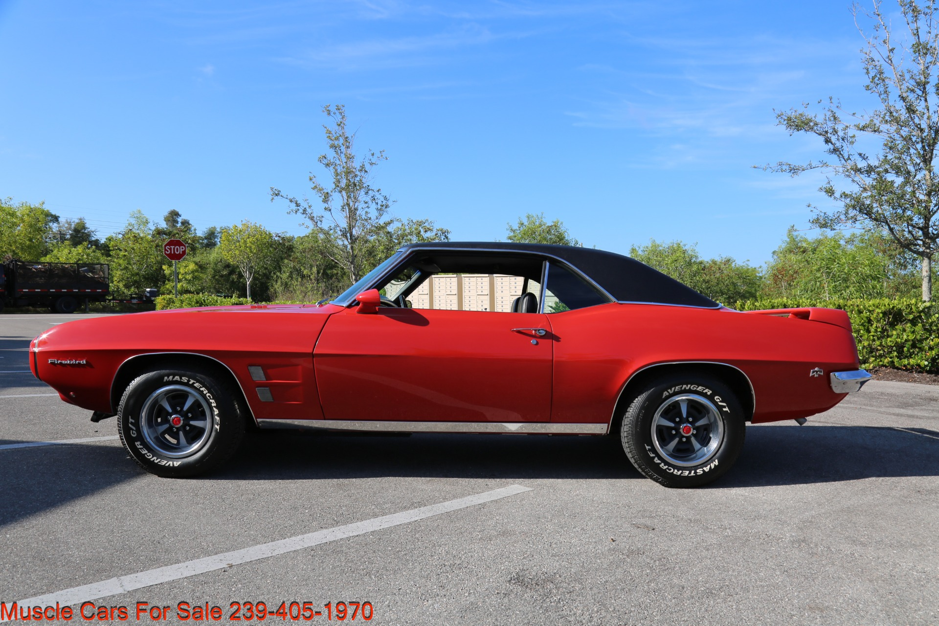 Used 1969 Pontiac Firebird for sale Sold at Muscle Cars for Sale Inc. in Fort Myers FL 33912 3