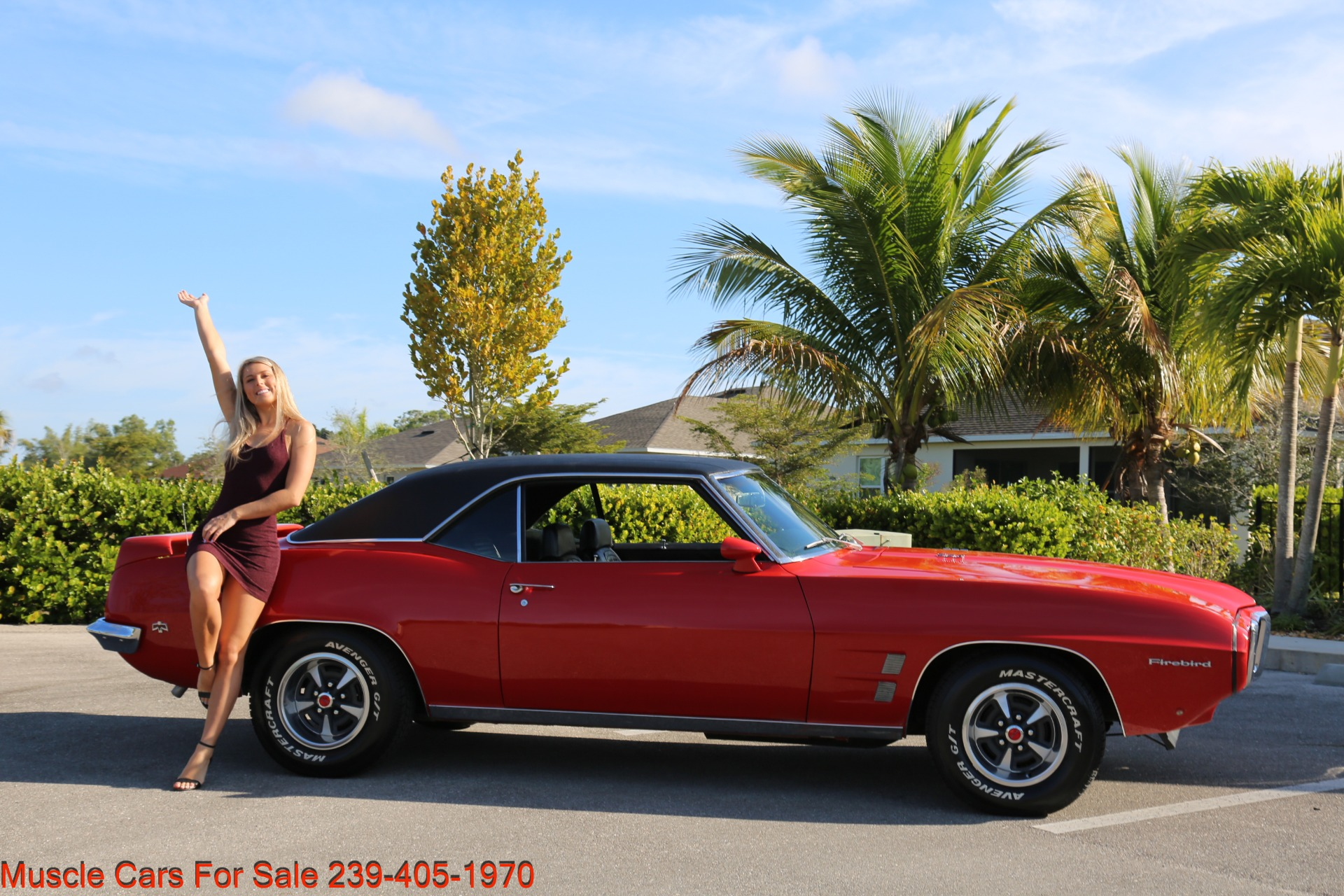 Used 1969 Pontiac Firebird for sale Sold at Muscle Cars for Sale Inc. in Fort Myers FL 33912 5