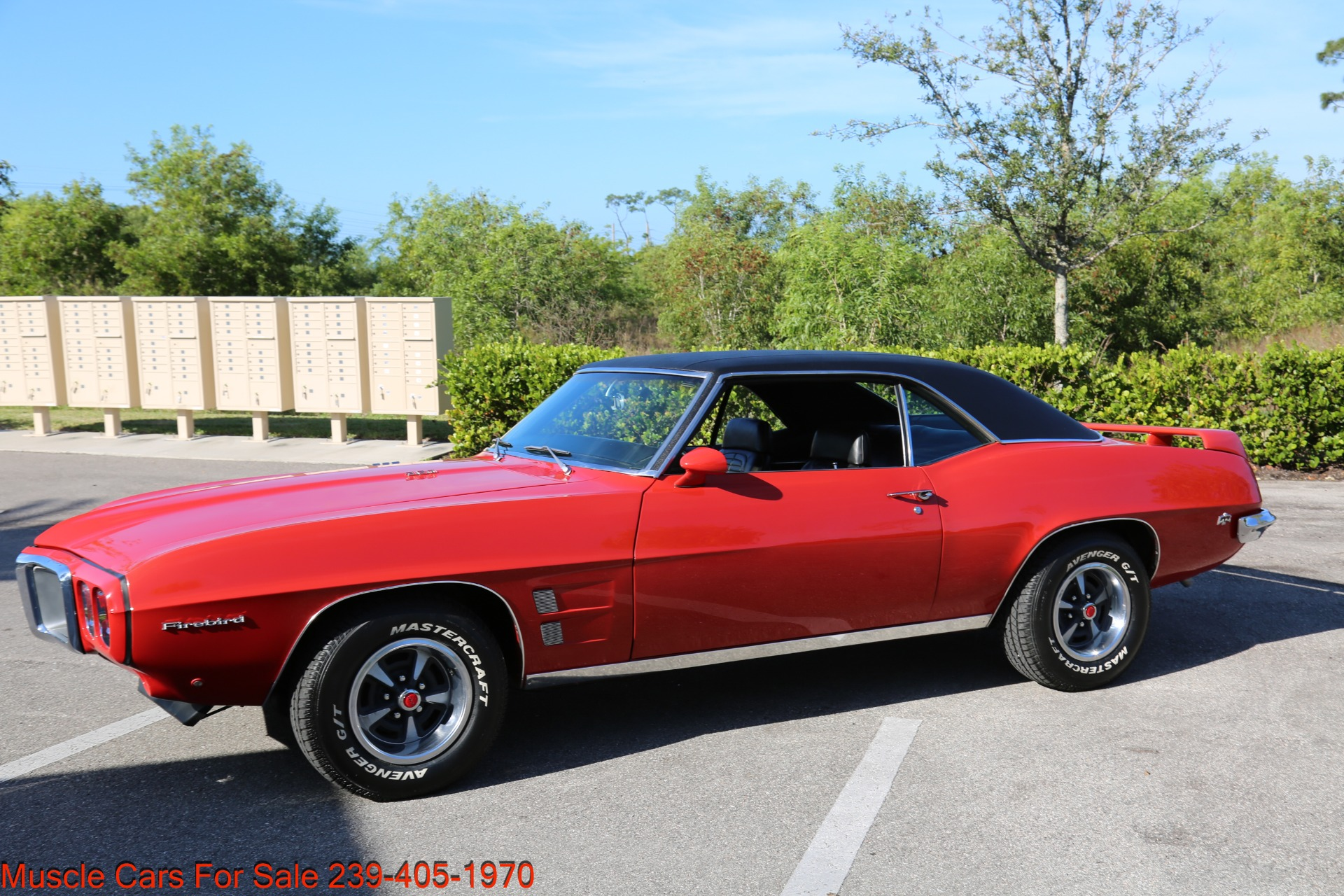 Used 1969 Pontiac Firebird for sale Sold at Muscle Cars for Sale Inc. in Fort Myers FL 33912 7