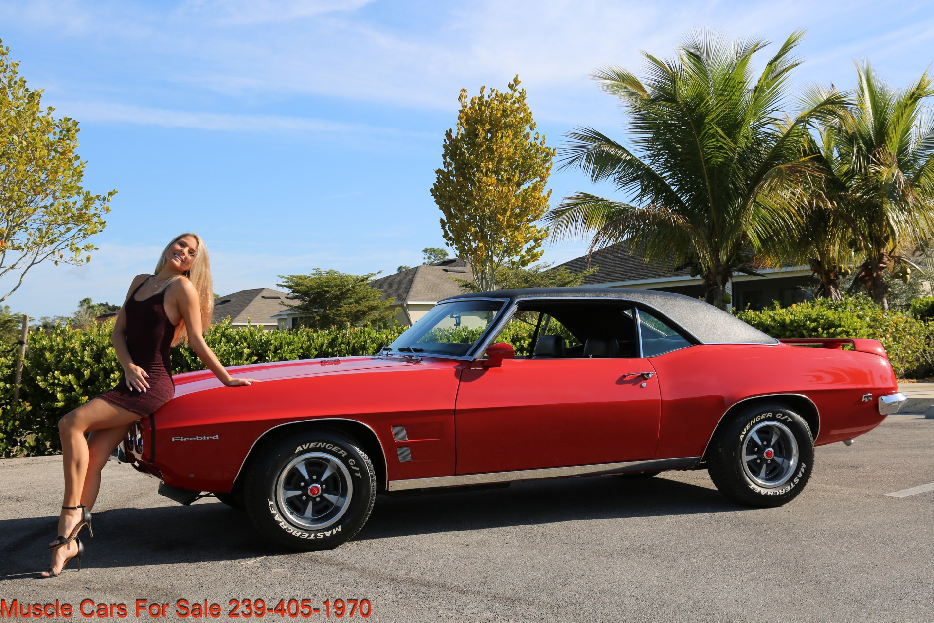 Used 1969 Pontiac Firebird for sale Sold at Muscle Cars for Sale Inc. in Fort Myers FL 33912 1