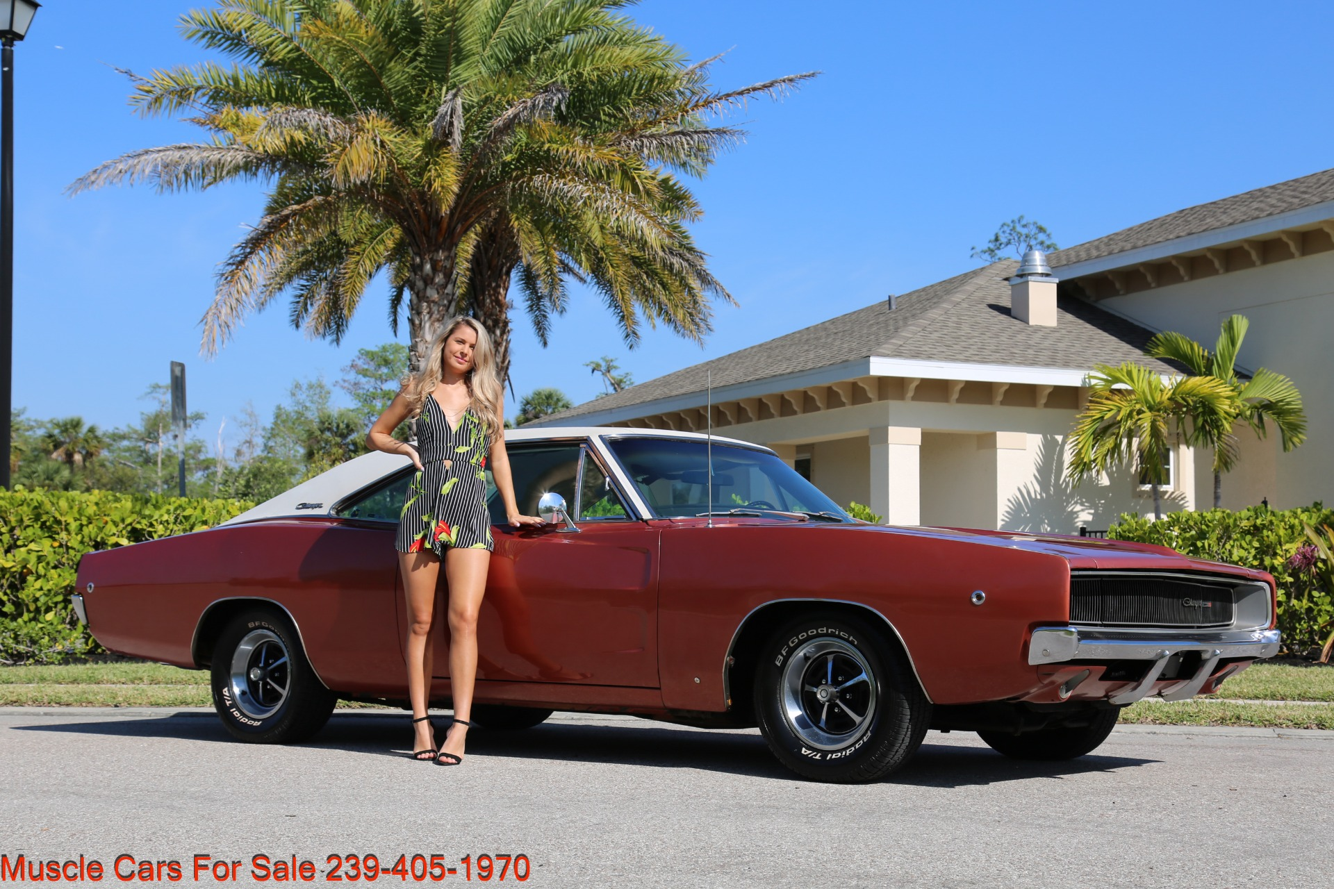 Used 1968 Dodge Charger Charger for sale Sold at Muscle Cars for Sale Inc. in Fort Myers FL 33912 2