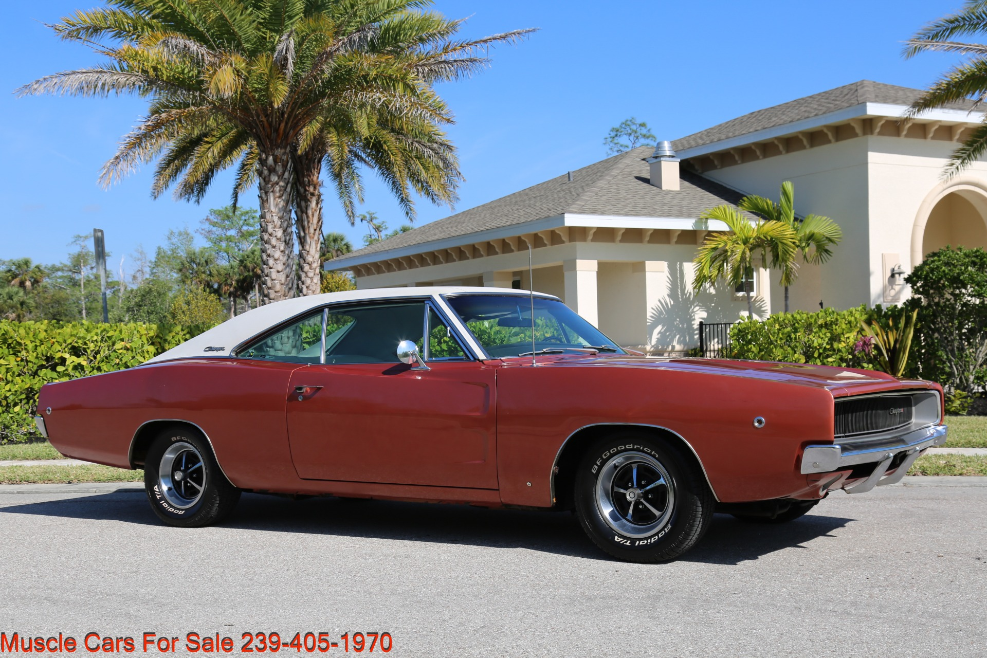 Used 1968 Dodge Charger Charger for sale Sold at Muscle Cars for Sale Inc. in Fort Myers FL 33912 3