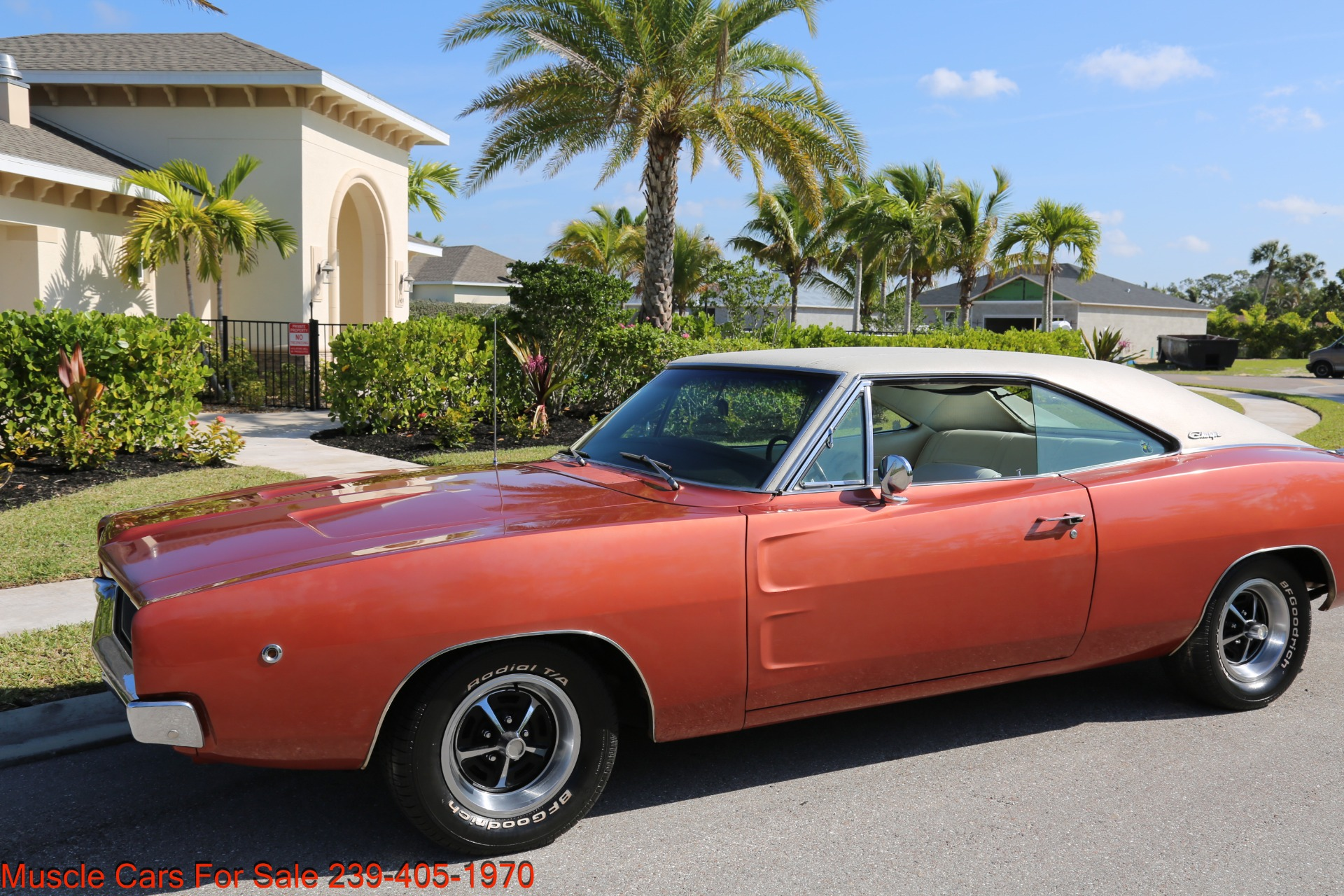 Used 1968 Dodge Charger Charger for sale Sold at Muscle Cars for Sale Inc. in Fort Myers FL 33912 4