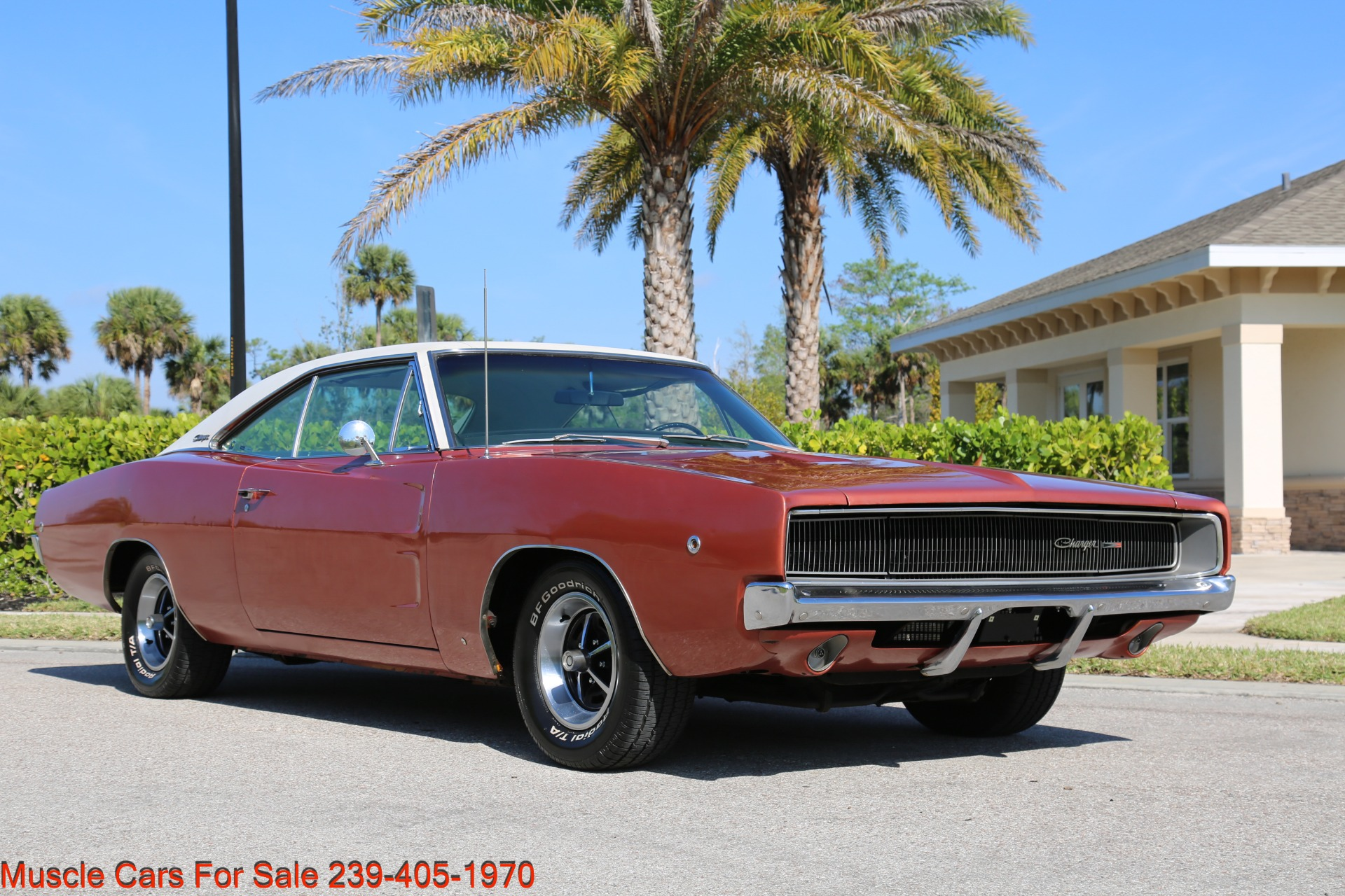 Used 1968 Dodge Charger Charger for sale Sold at Muscle Cars for Sale Inc. in Fort Myers FL 33912 7