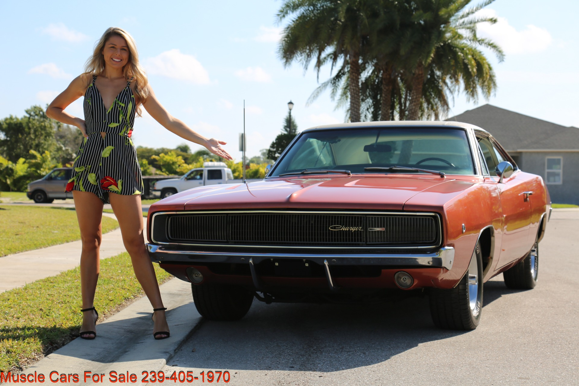 Used 1968 Dodge Charger Charger for sale Sold at Muscle Cars for Sale Inc. in Fort Myers FL 33912 8
