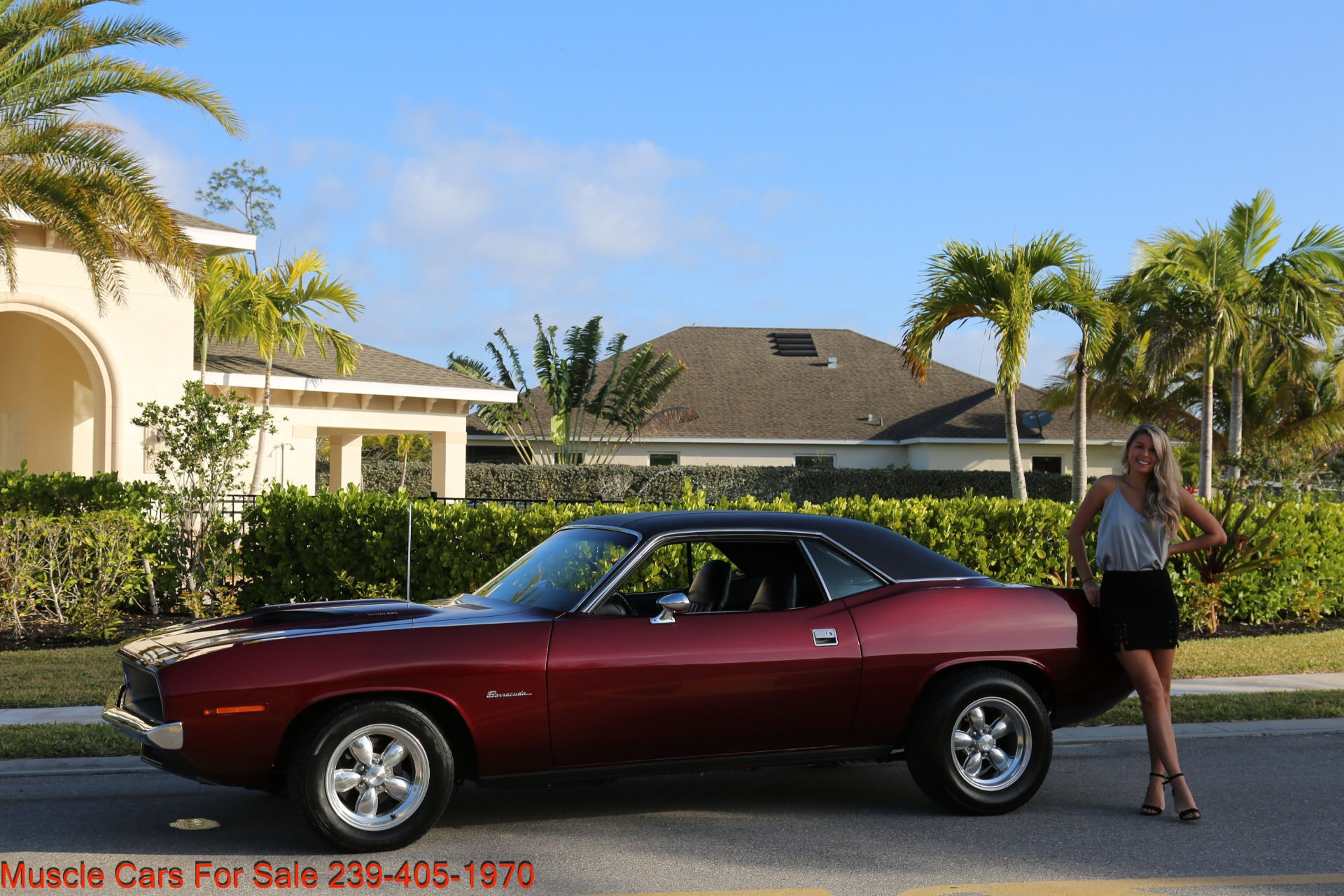 Used 1970 Plymouth Barracuda 440 V8 Automatic for sale Sold at Muscle Cars for Sale Inc. in Fort Myers FL 33912 3