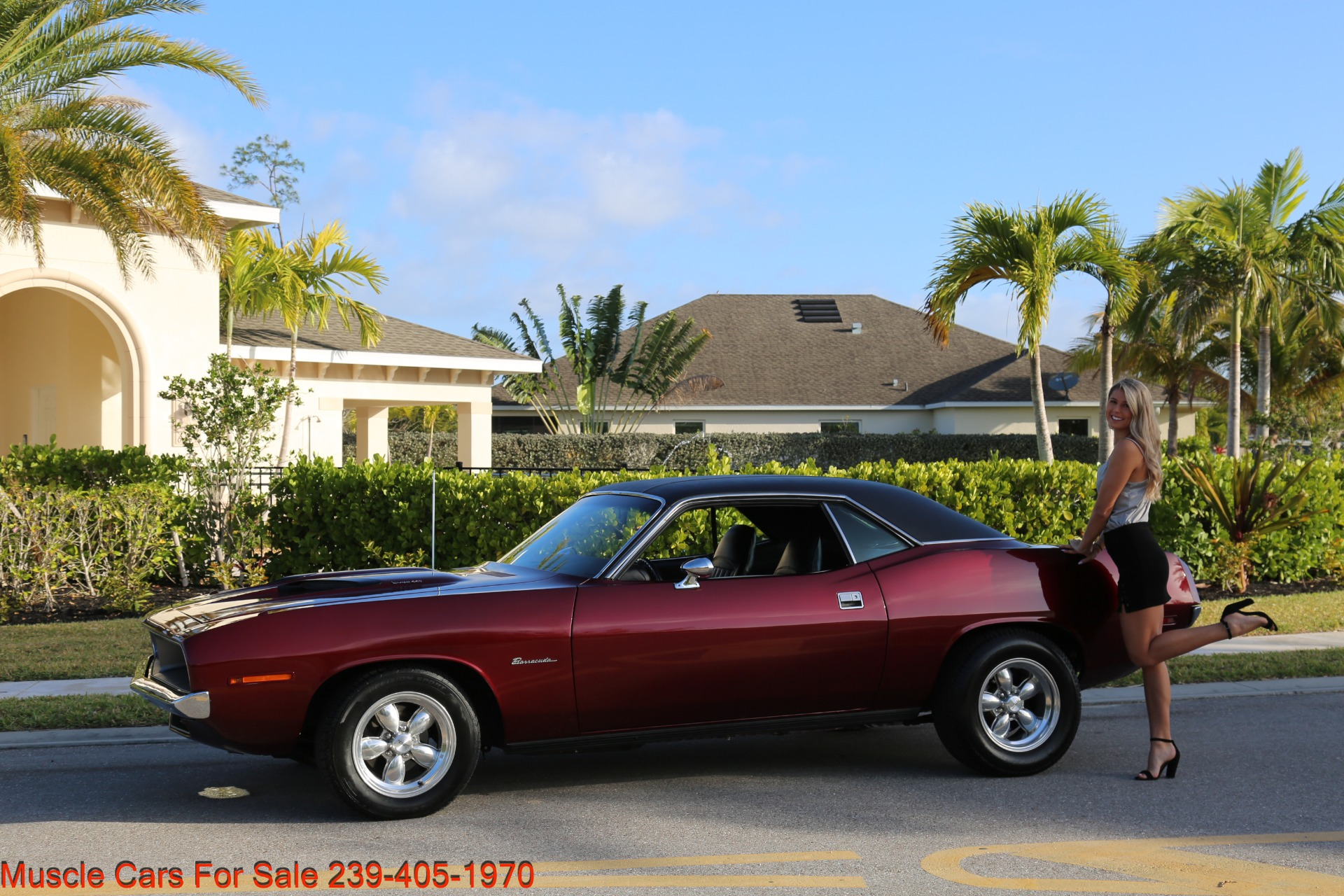 Used 1970 Plymouth Barracuda 440 V8 Automatic for sale Sold at Muscle Cars for Sale Inc. in Fort Myers FL 33912 4