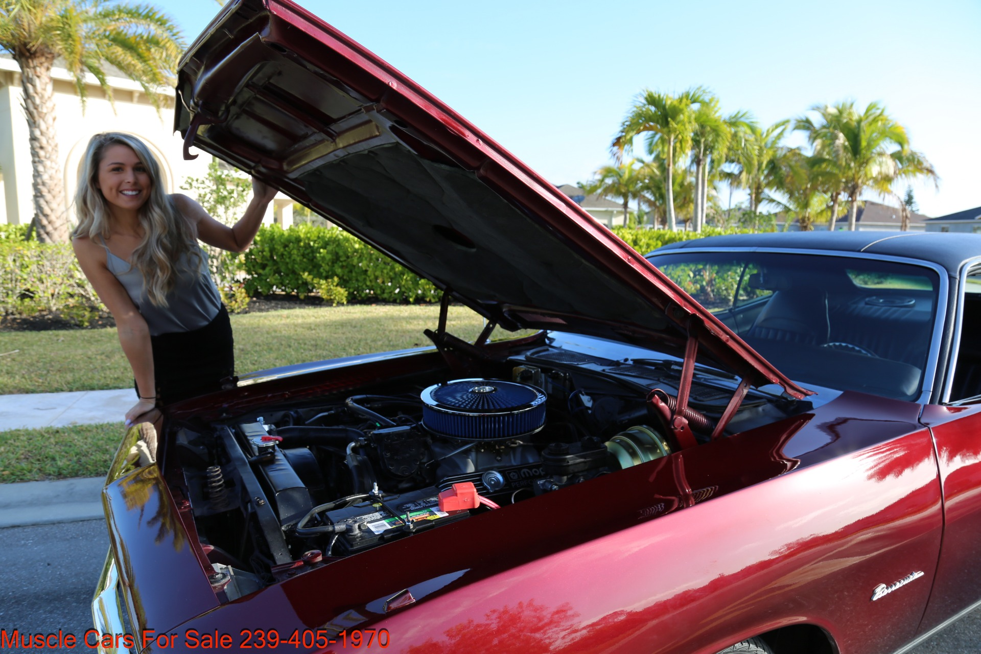 Used 1970 Plymouth Barracuda 440 V8 Automatic for sale Sold at Muscle Cars for Sale Inc. in Fort Myers FL 33912 8