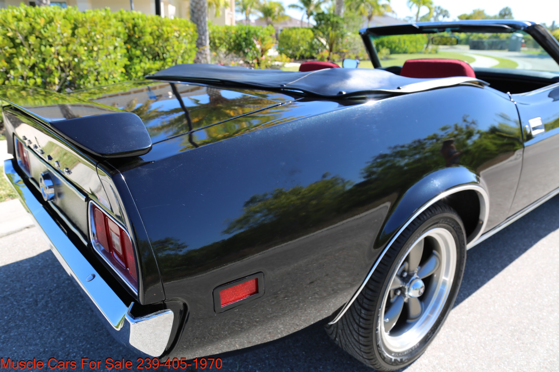 Used 1971 Ford Mustang M code Convertible for sale Sold at Muscle Cars for Sale Inc. in Fort Myers FL 33912 4