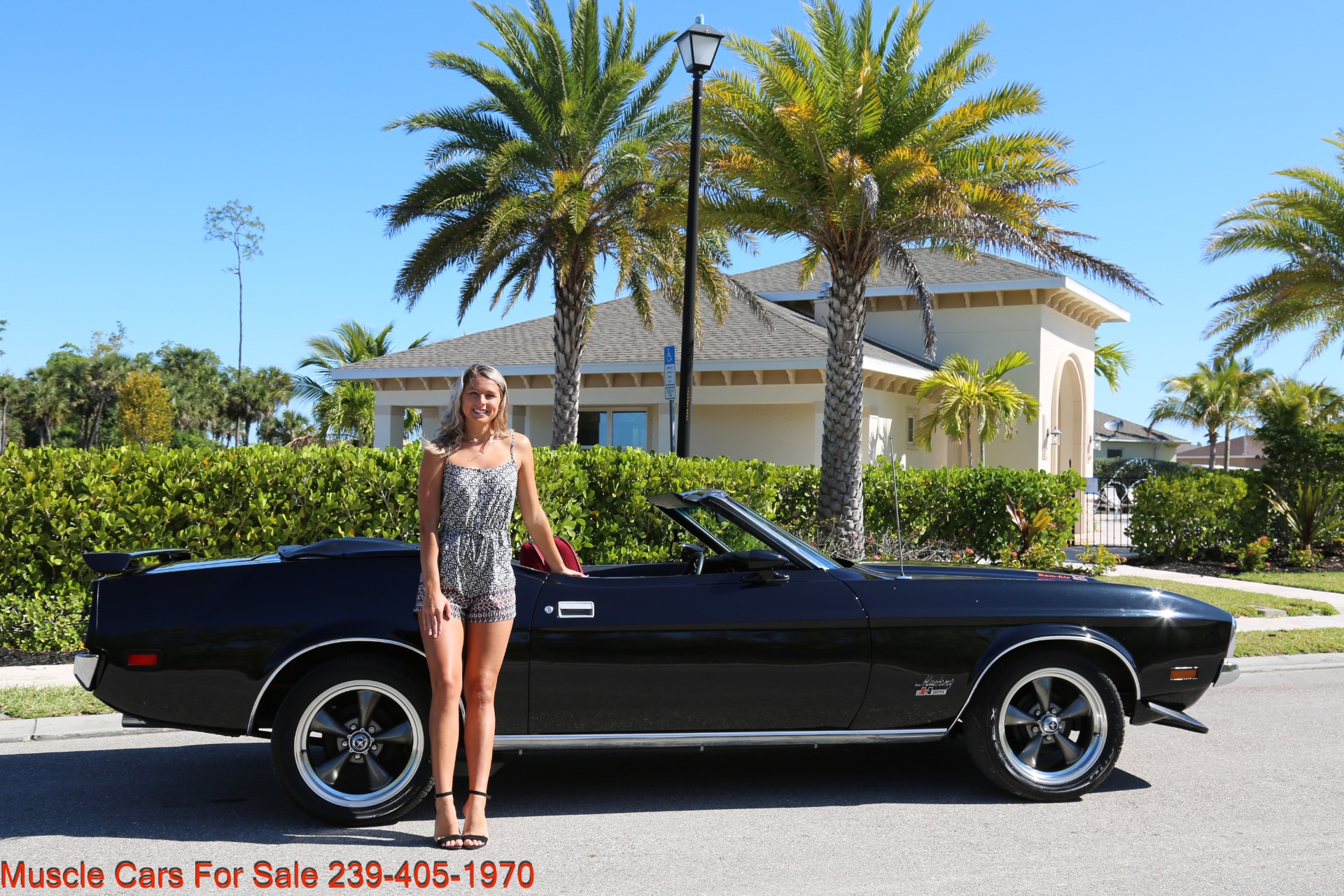 Used 1971 Ford Mustang M code Convertible for sale Sold at Muscle Cars for Sale Inc. in Fort Myers FL 33912 1