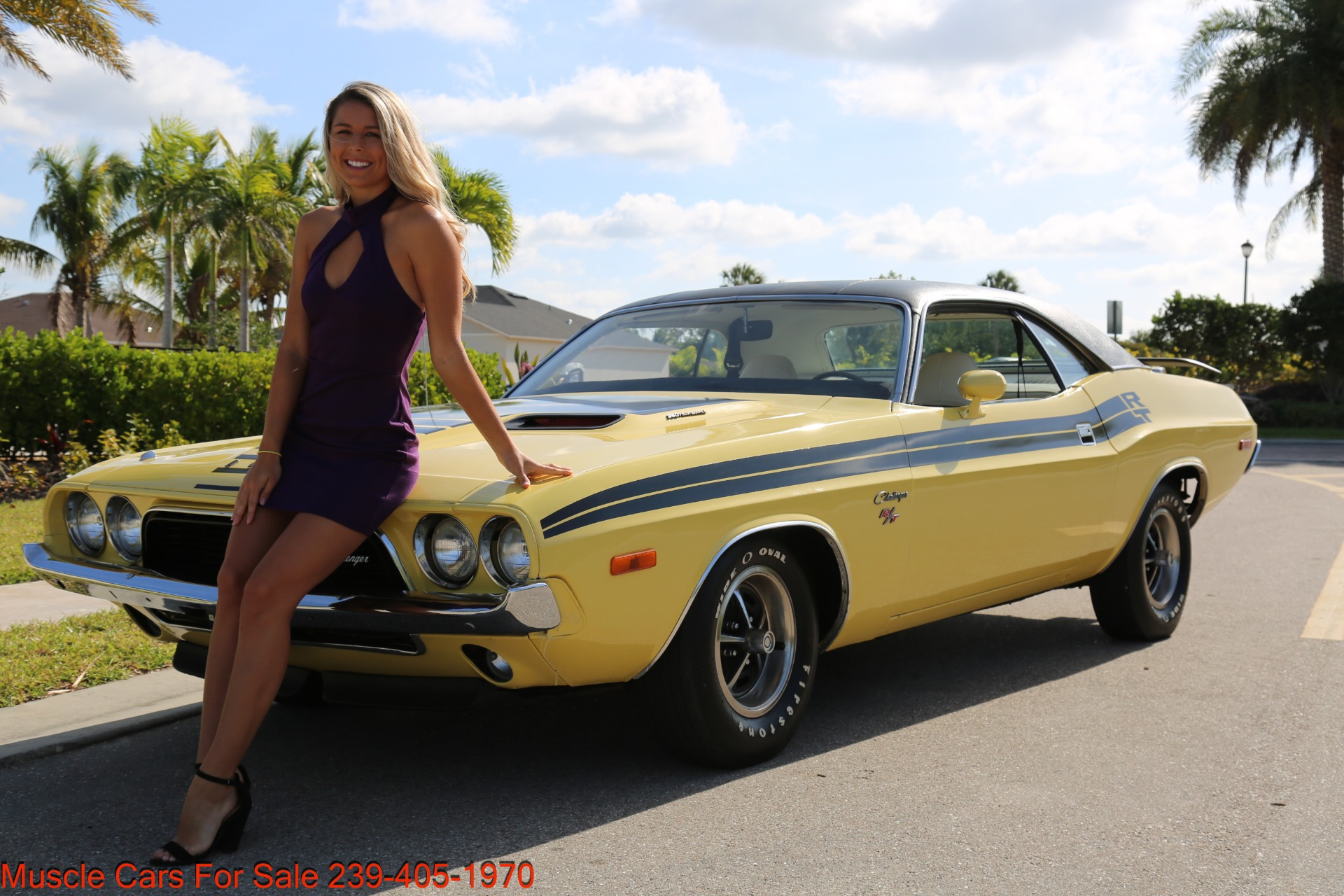 Used 1974 Dodge Challenger R/T for sale $29,900 at Muscle Cars for Sale Inc. in Fort Myers FL 33912 8