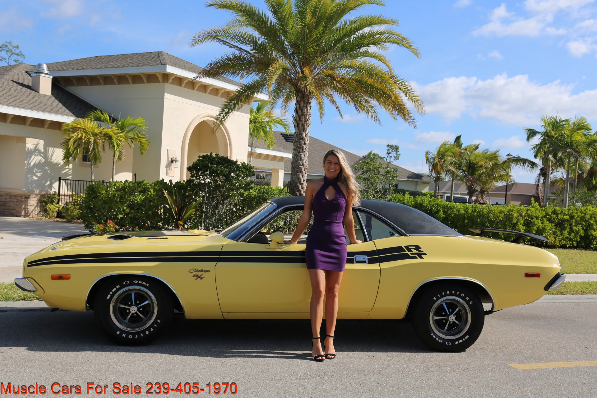 Used 1974 Dodge Challenger R/T for sale $29,900 at Muscle Cars for Sale Inc. in Fort Myers FL 33912 1