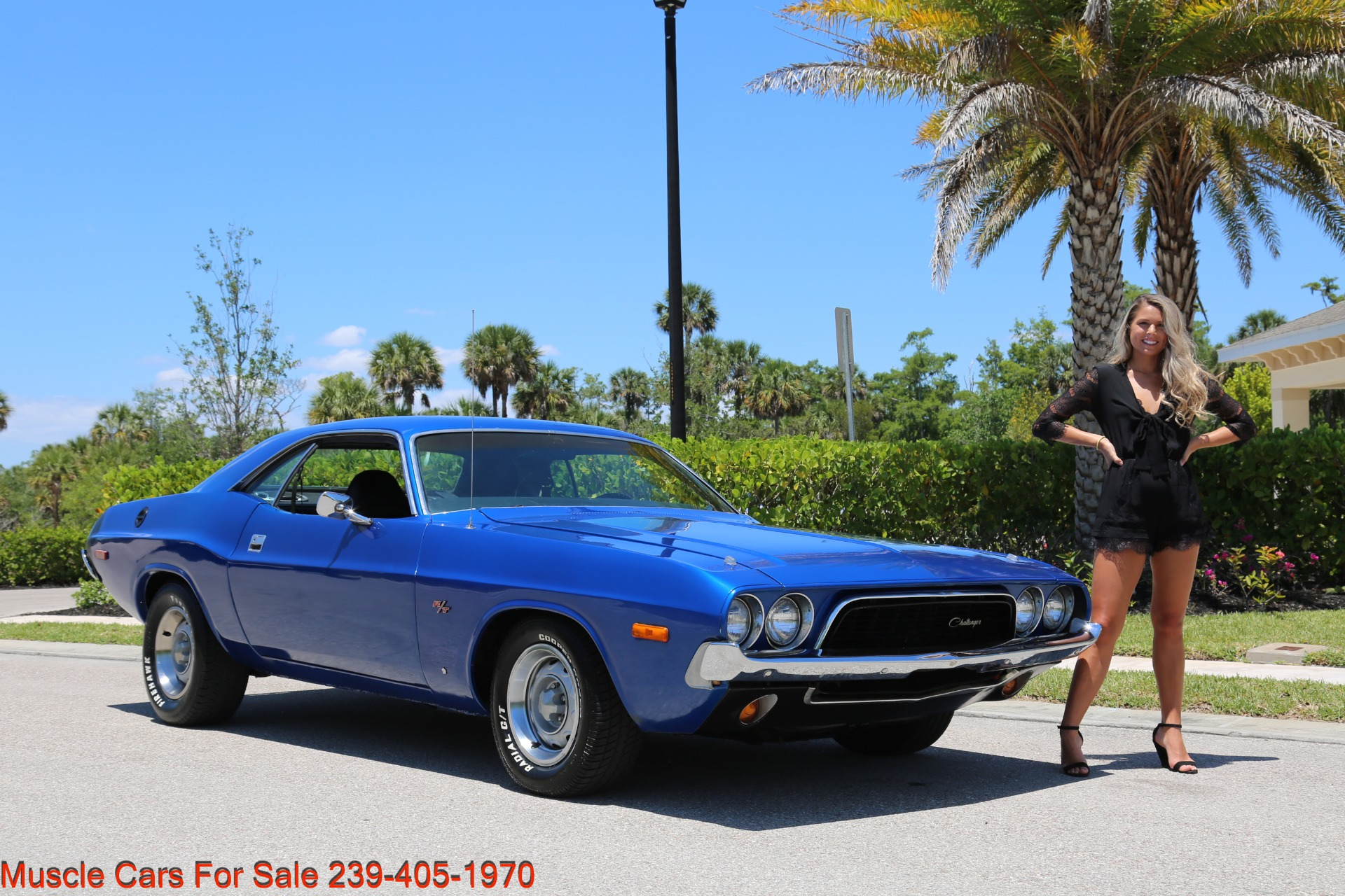 Used 1974 Dodge Challenger V8 Auto for sale Sold at Muscle Cars for Sale Inc. in Fort Myers FL 33912 5
