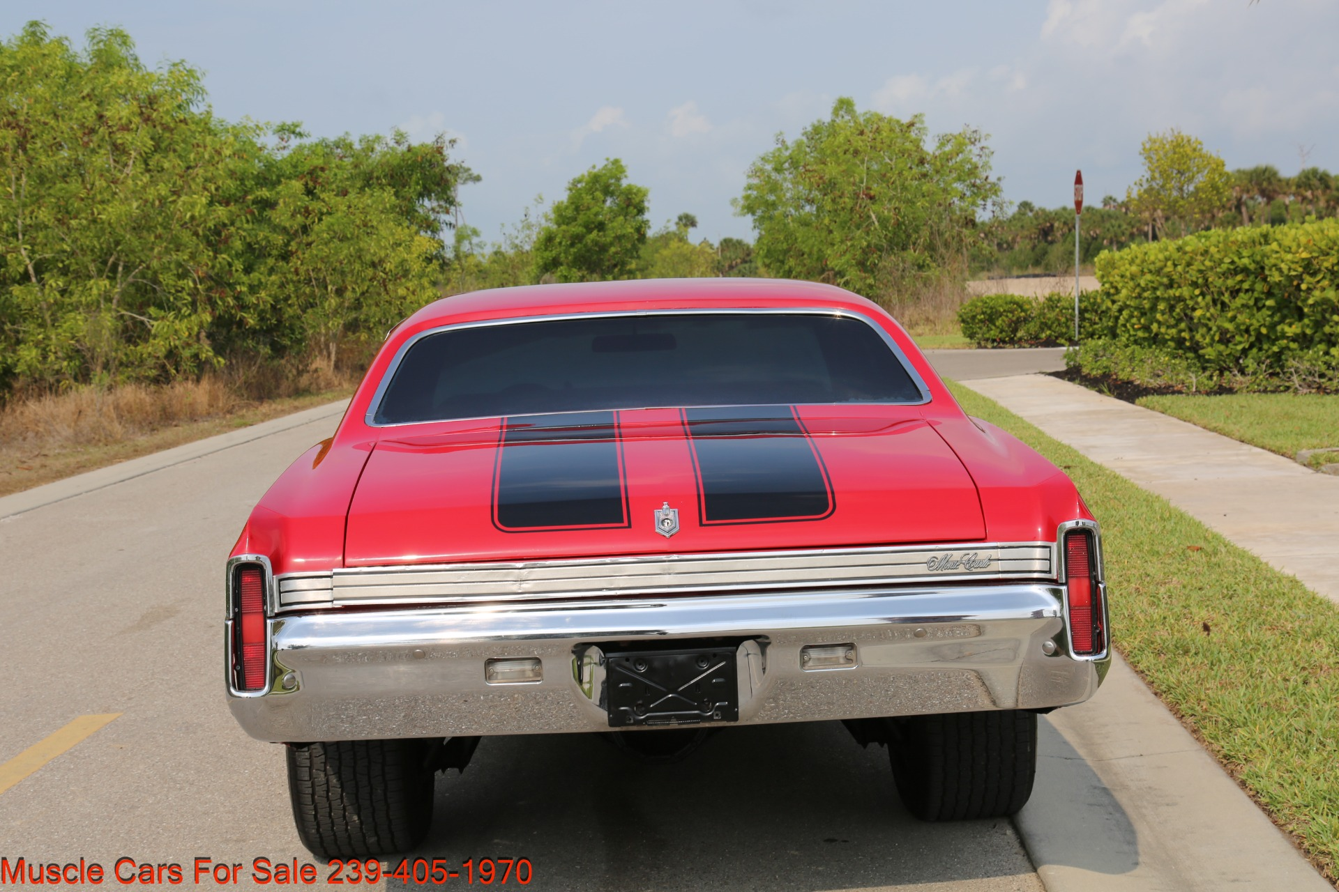 Used 1972 Chevy Monte Carlo for sale Sold at Muscle Cars for Sale Inc. in Fort Myers FL 33912 3